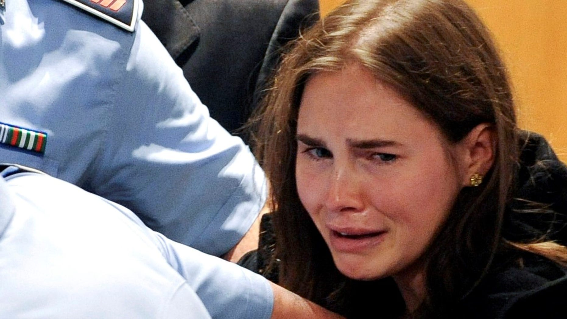 """Amanda Knox was dubbed """"Foxy Knoxy"""" during her trial for the 2007 murder of her roommate."""