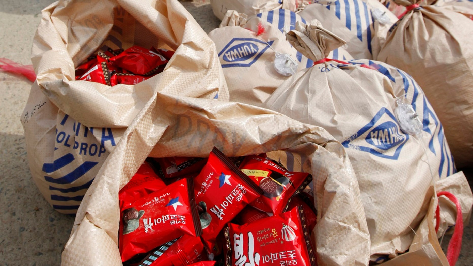 North Koreans are fond of Choco Pies (pictured here) that are made in South Korea.