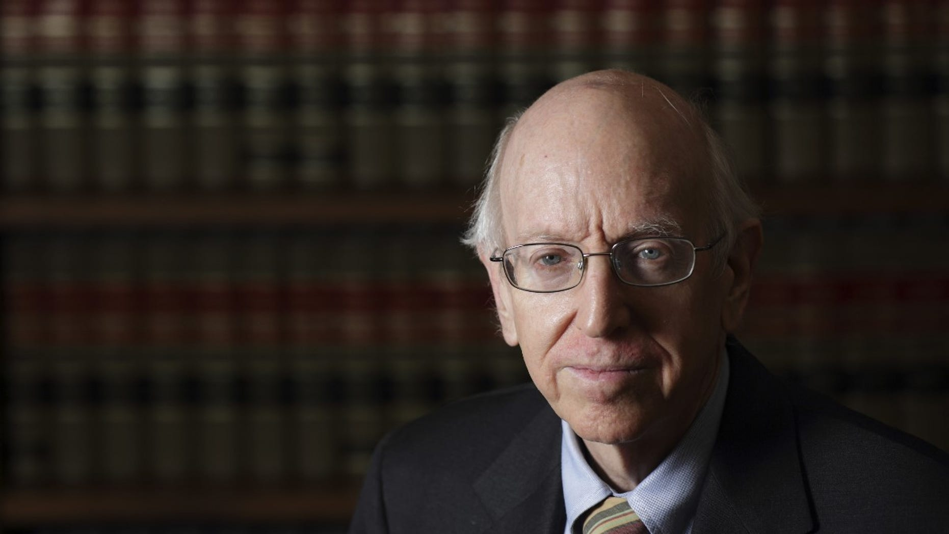 FILE -- Federal Judge Richard Posner poses in his Chambers in Chicago.