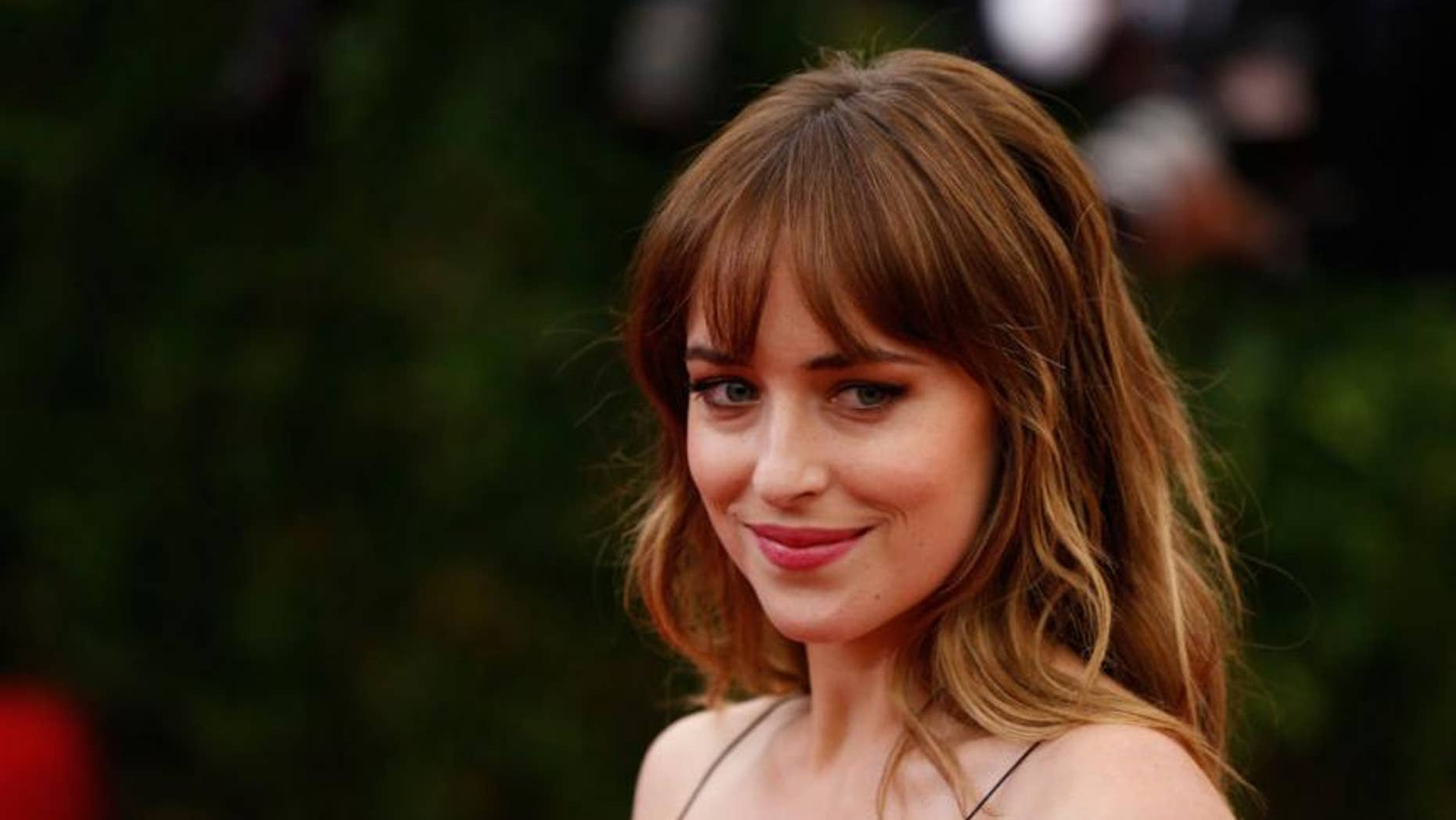 "Dakota Johnson appeared on ""The Ellen DeGeneres Show"" on Thursday."