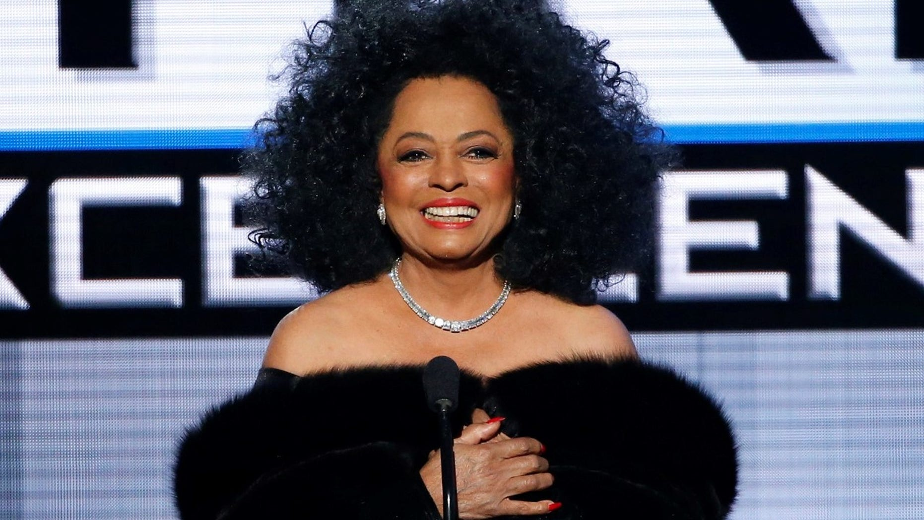 Diana Ross said she lost her fanny pack at a Los Angeles Marshalls over the weekend.