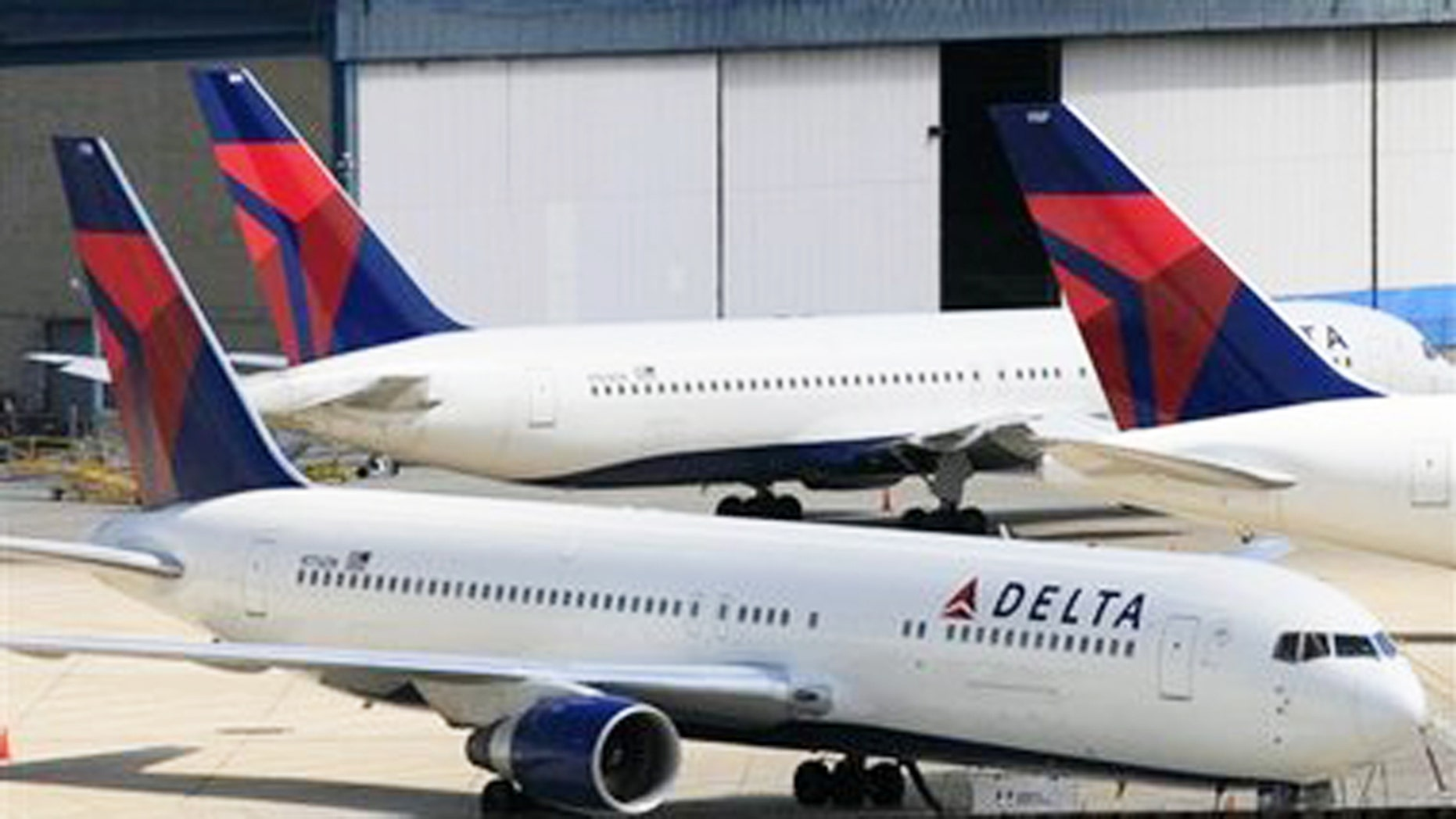 Flying Delta? You'll probably get to your destination on time.