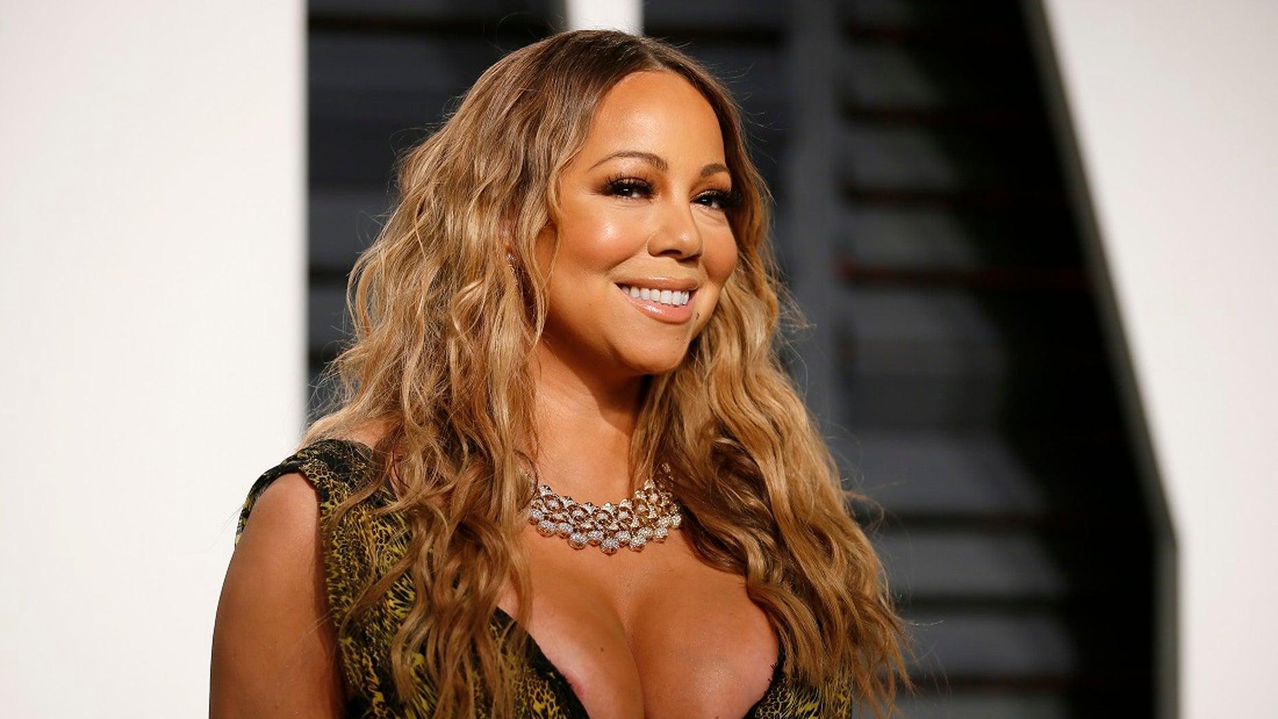 Mariah Carey. (Reuters)