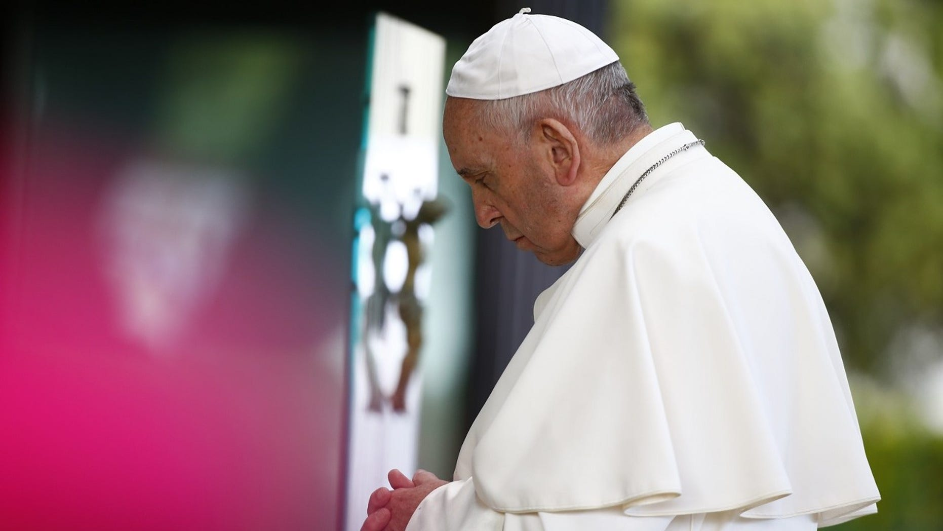 Pope Francis admitted on Tuesday he sometimes takes a nap when he prays.