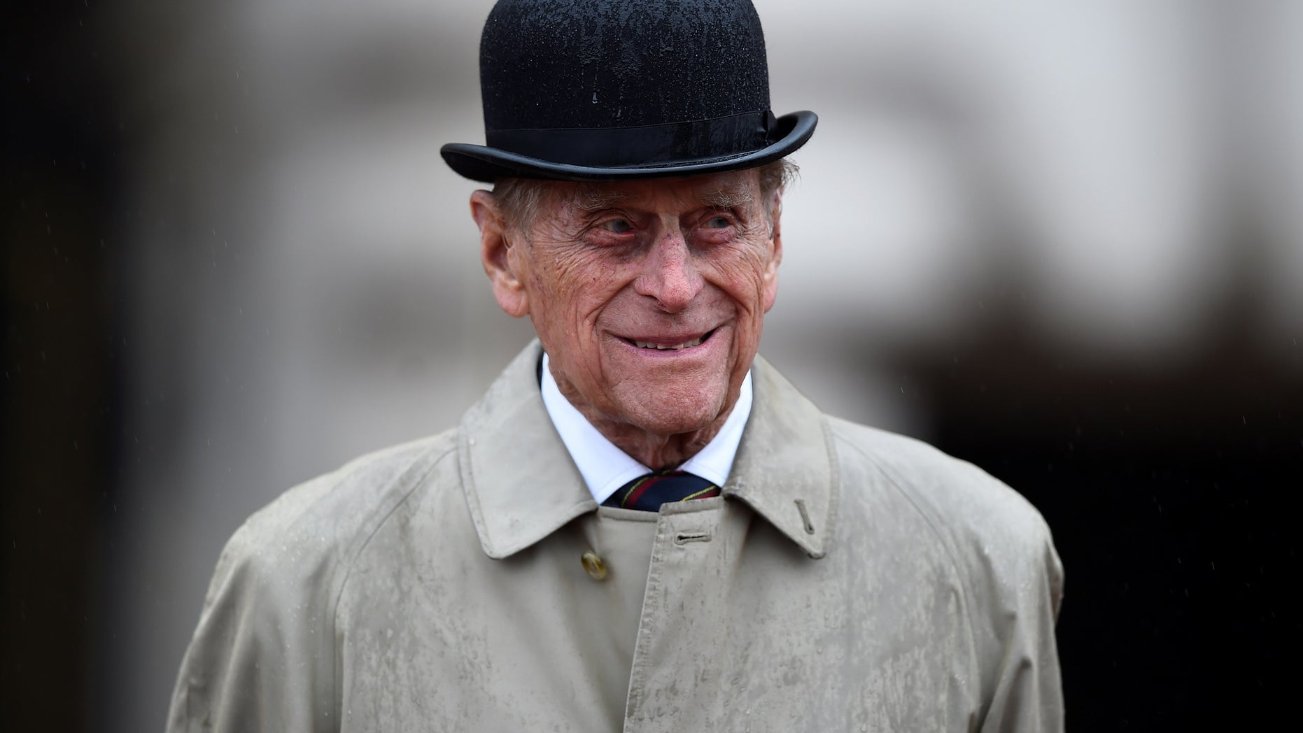 """Prince Philip is """"comfortable and in good spirits"""" after his successful hip surgery Wednesday."""