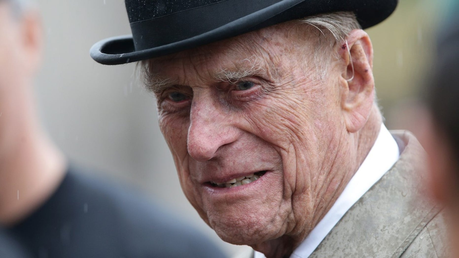 Prince Philip was admitted to a London hospital on Tuesday for a scheduled hip surgery.