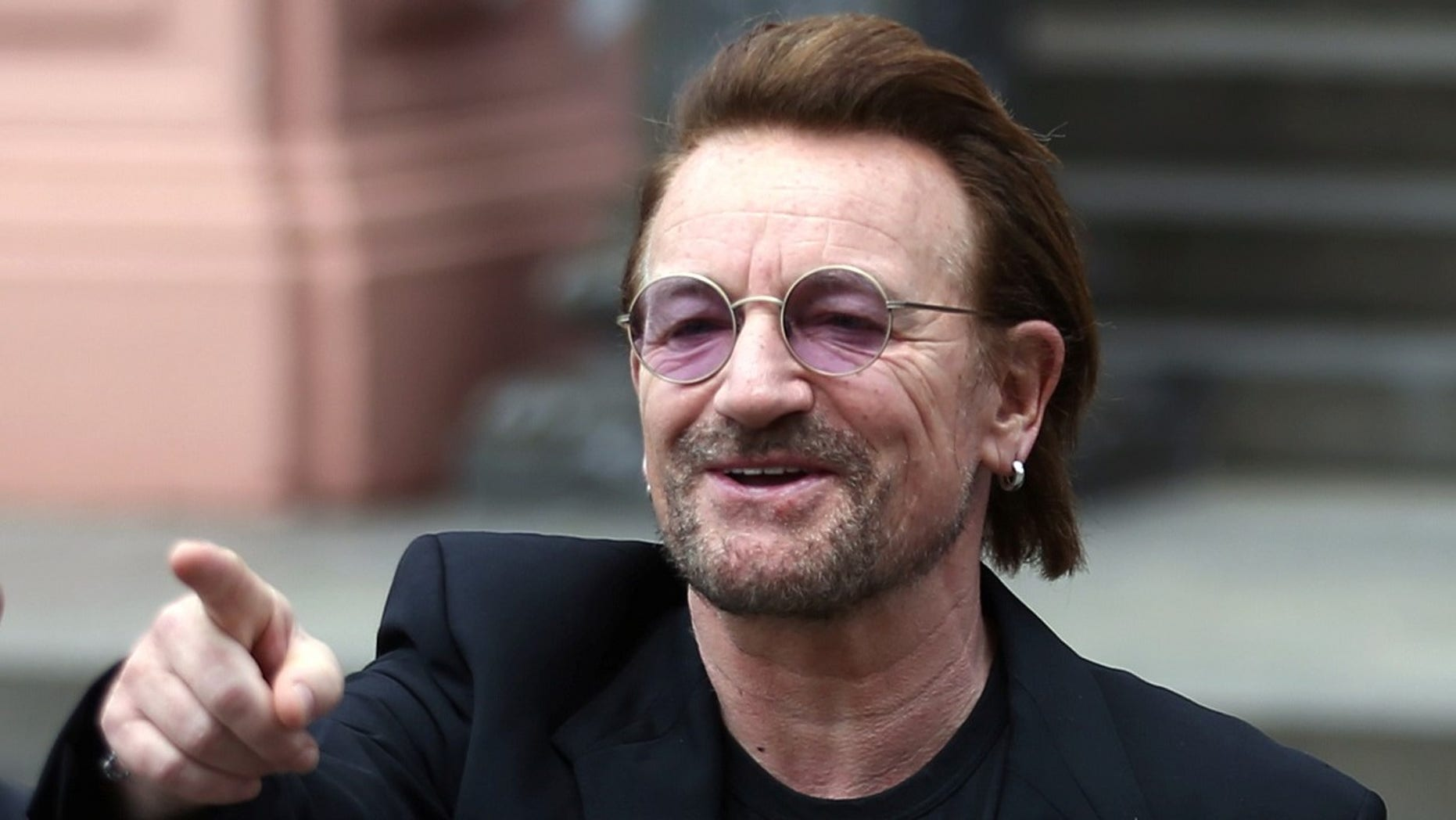 Bono had to cancel a concert when he lost his voice during a song.
