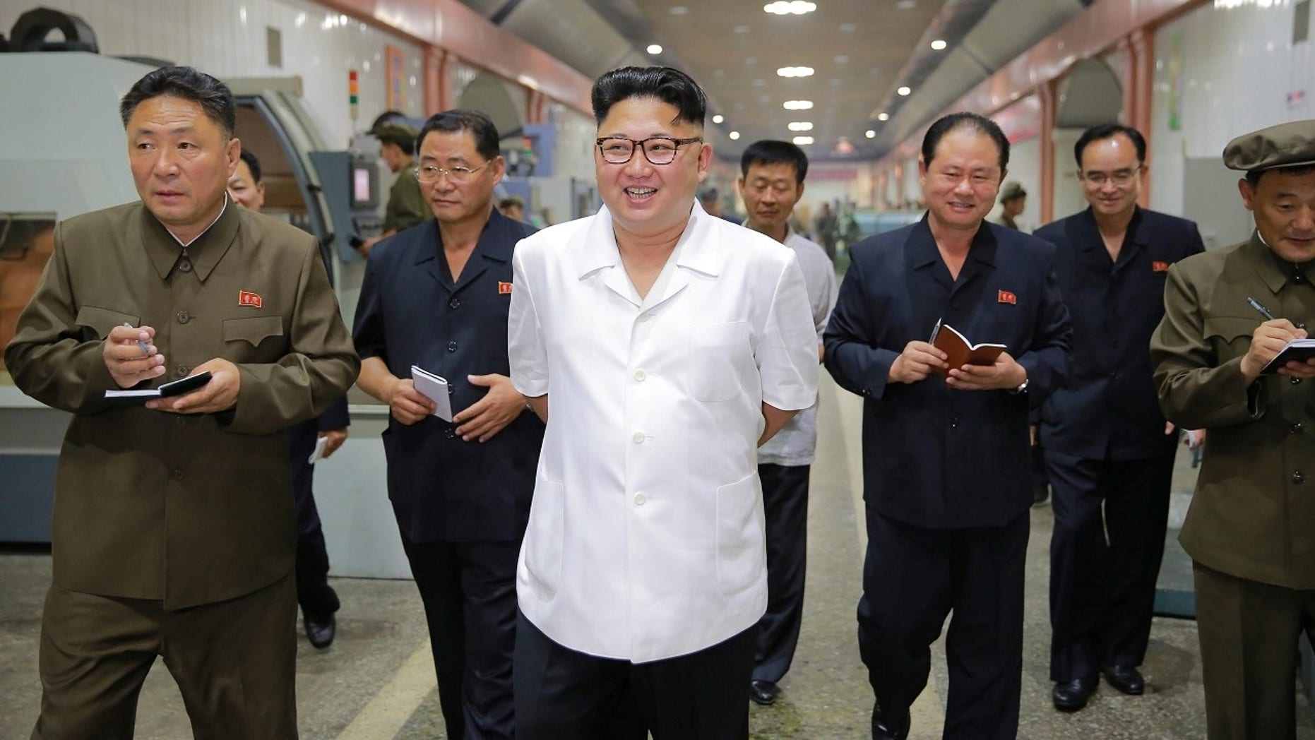 North Korea's latest missile test in September flew over northern Japan before splashing into the Pacific Ocean.