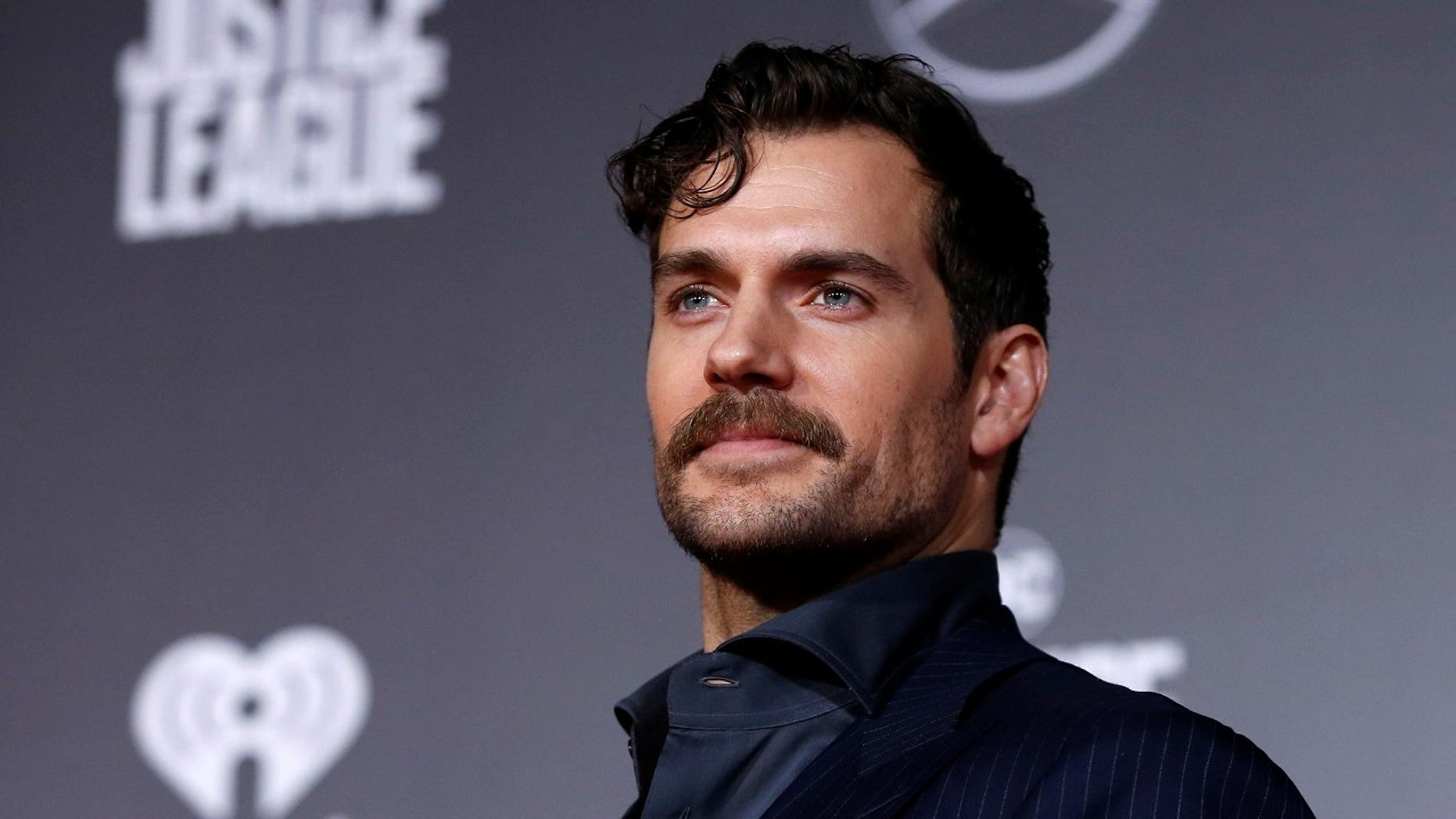Henry Cavill appeared in a drastic new look to promote 'The Witcher.'