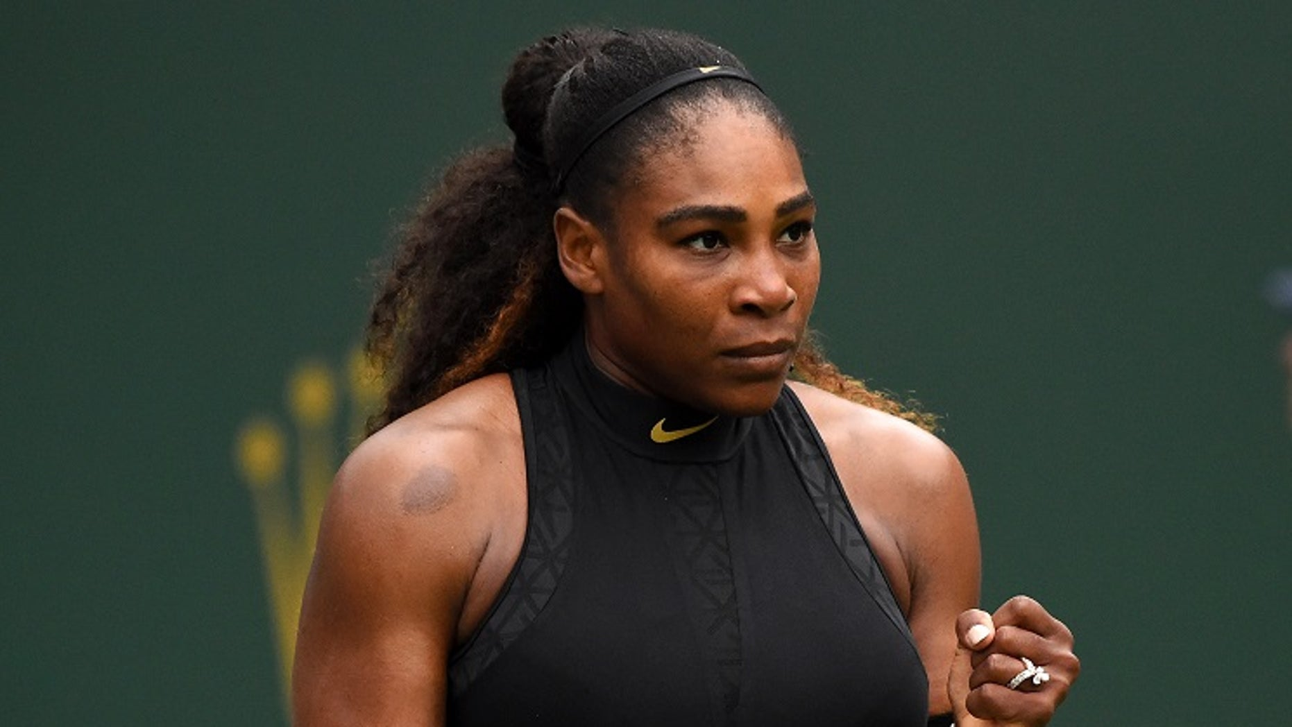 Tennis star Serena Williams is now ranked No. 453.