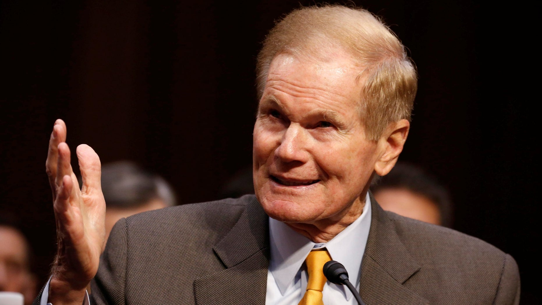 Democratic Sen. Bill Nelson compared the political environment of the United States to that of Rwanda before its 1994 genocide that left more than 500,000 dead.