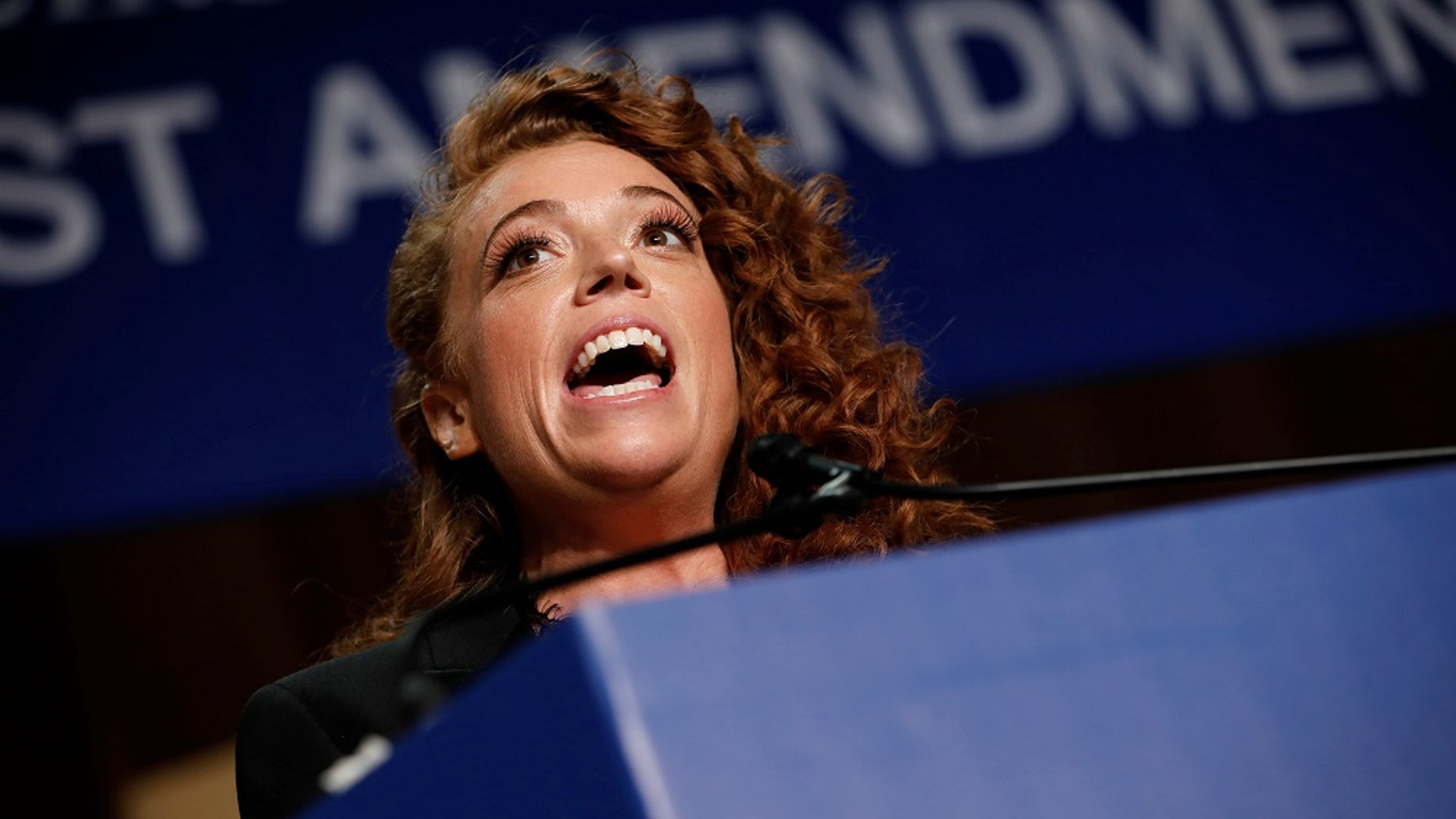 Comedian Michelle Wolf performs at the White House Correspondents' Association dinner in Washington, April 28, 2018.