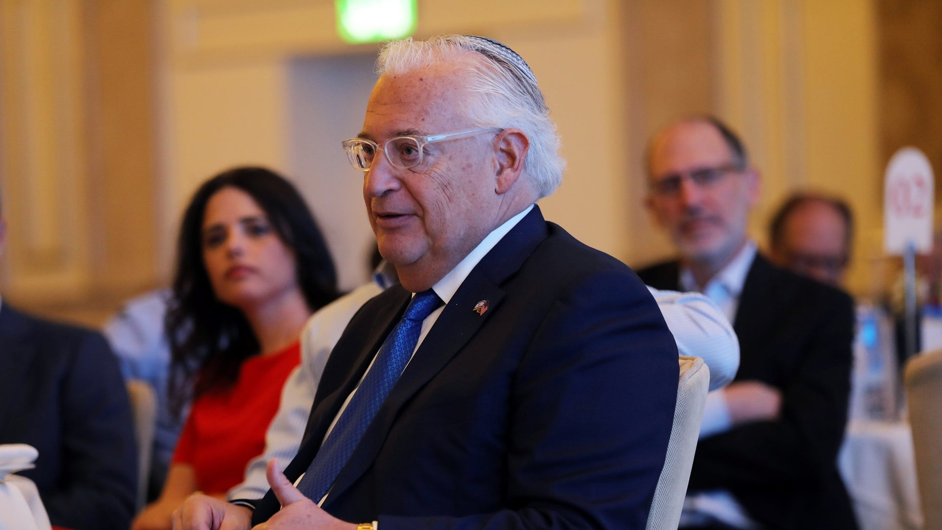 While a controversial pick, U.S. Ambassador to Israel David Friedman was the first of Trump's foreign emissaries to be confirmed.