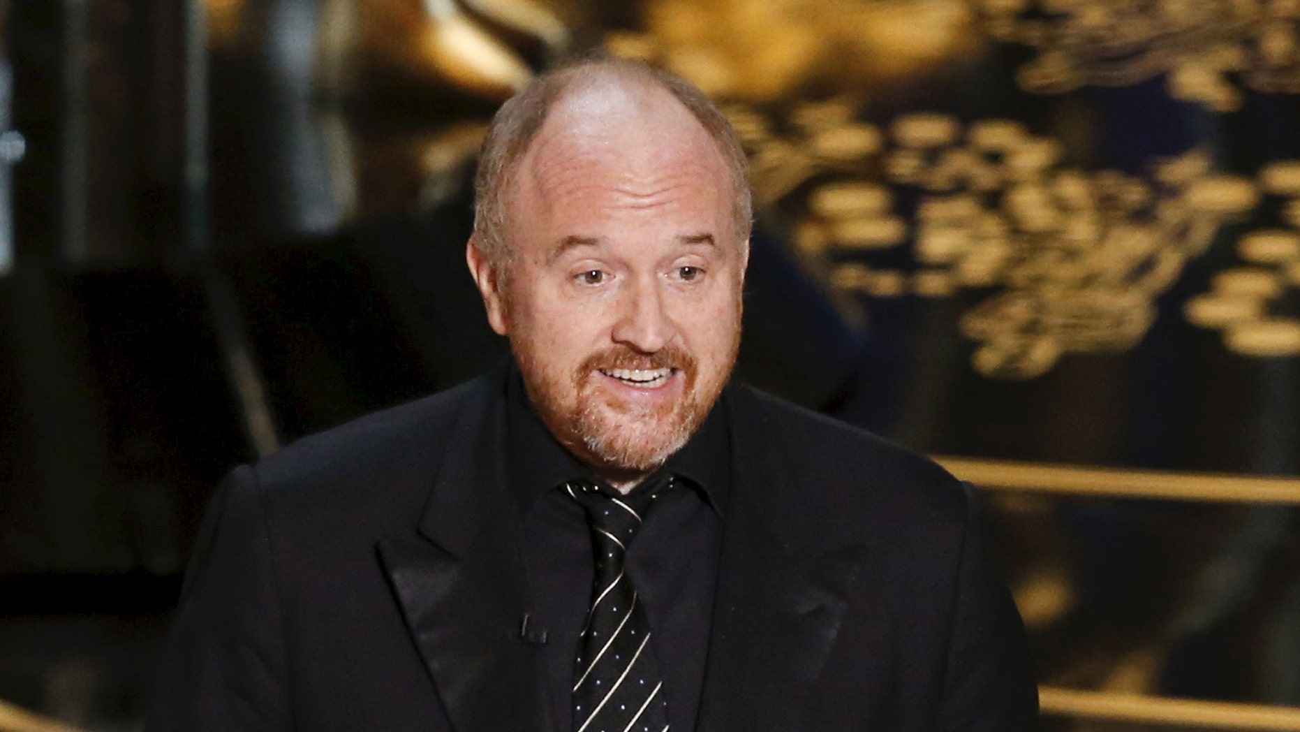 Presenter Louis C.K. introduces the nominees for Best Documentary Short Film at the 88th Academy Awards in Hollywood, California February 28, 2016. REUTERS/Mario Anzuoni - RTS8GQY