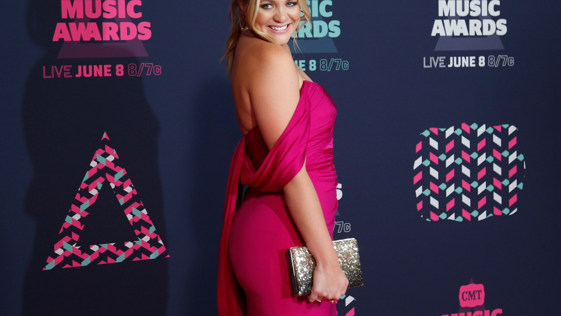 Singer Lauren Alaina arrives at the 2016 CMT Music Awards in Nashville, Tennessee, U.S. June 8, 2016.