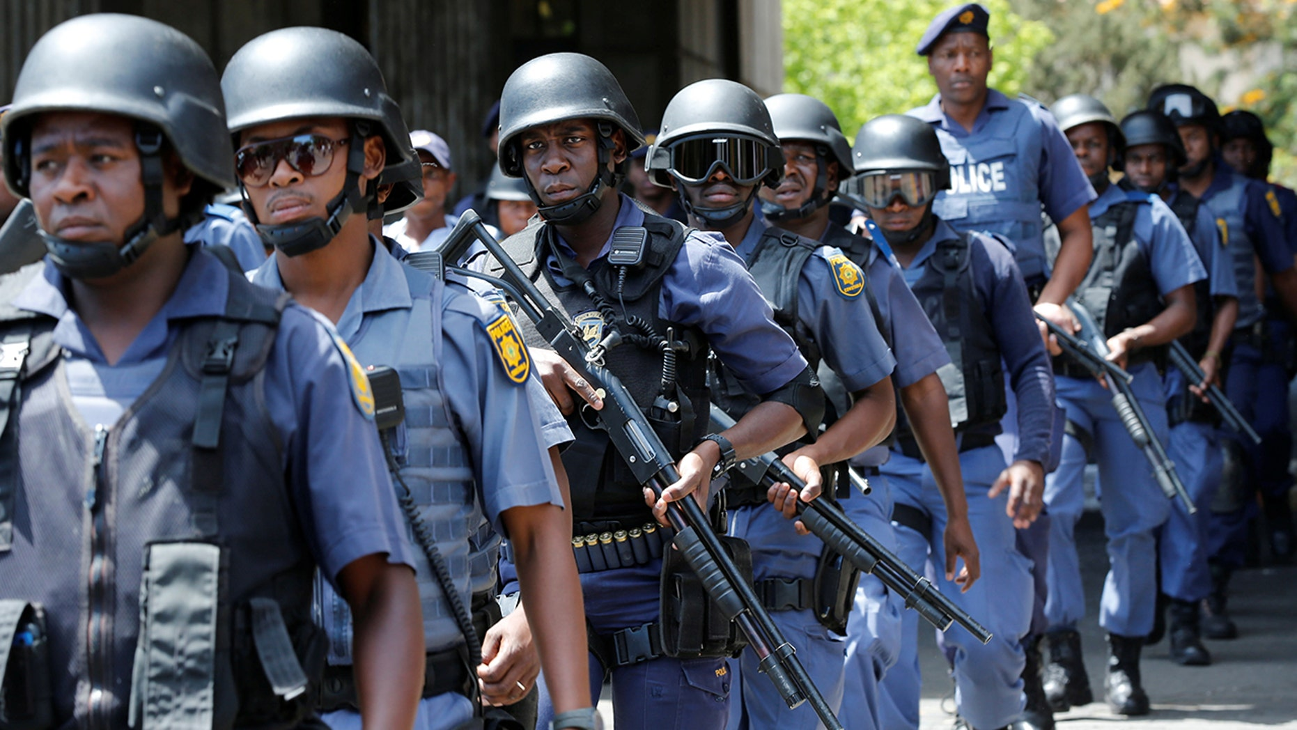 Police in South Africa are searching for a man they said had an injured penis after he was bitten by a woman he allegedly raped.
