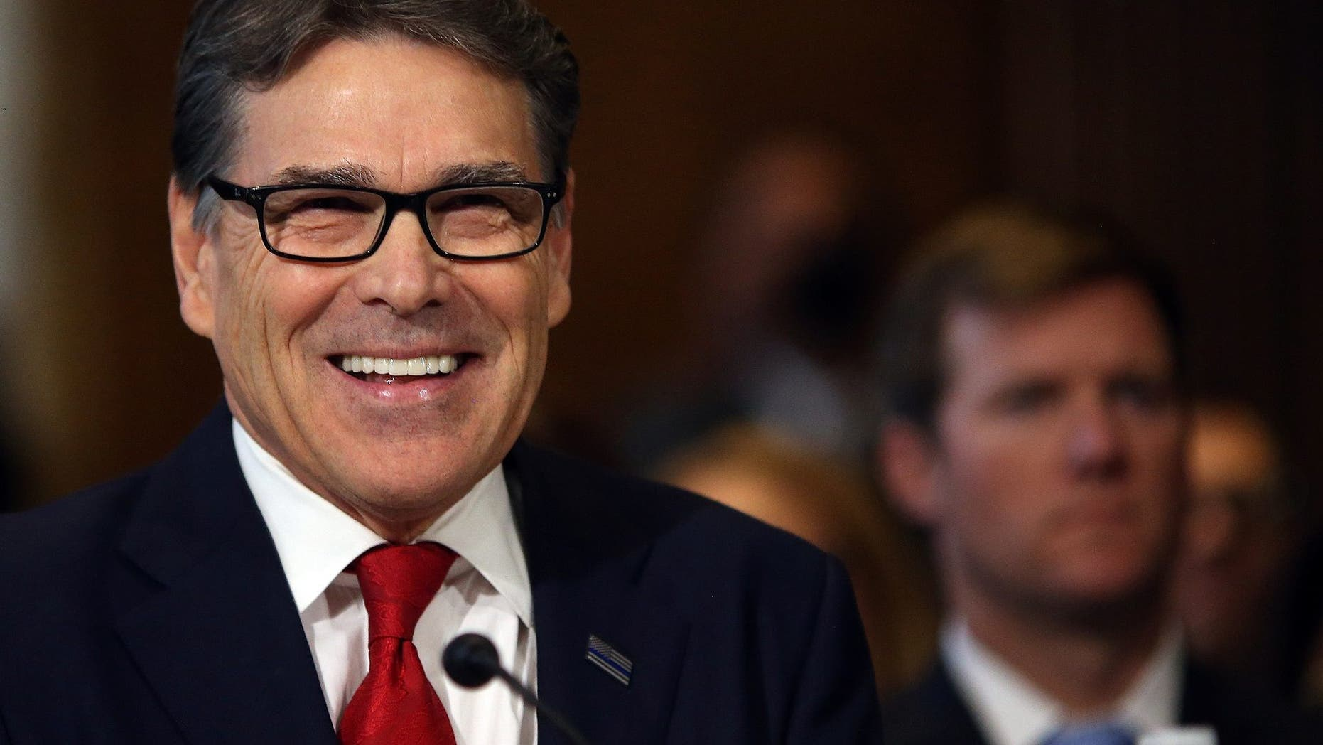Rick Perry is one of Trump's Cabinet members.