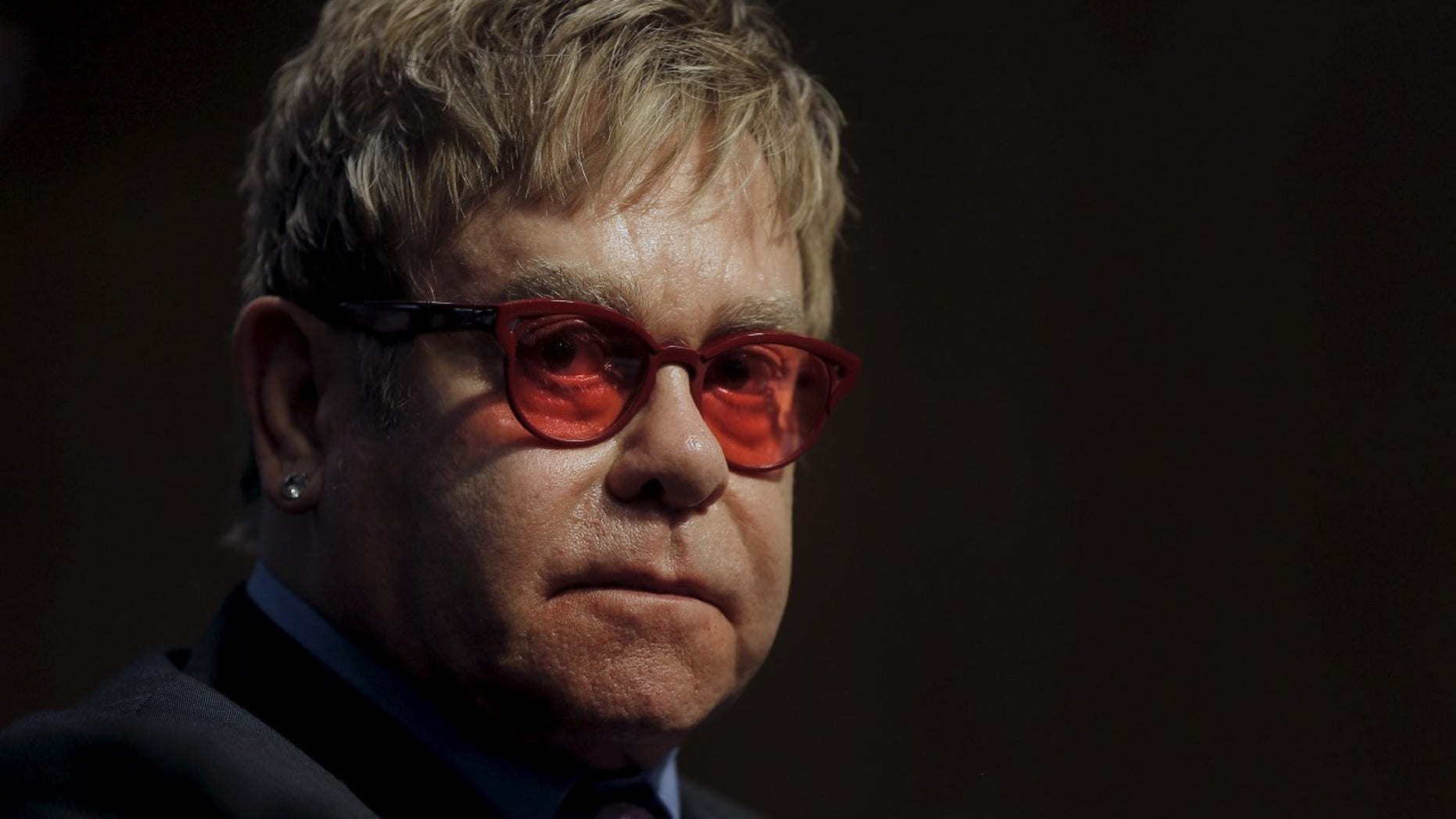 Elton John announced on Monday her mother had died.