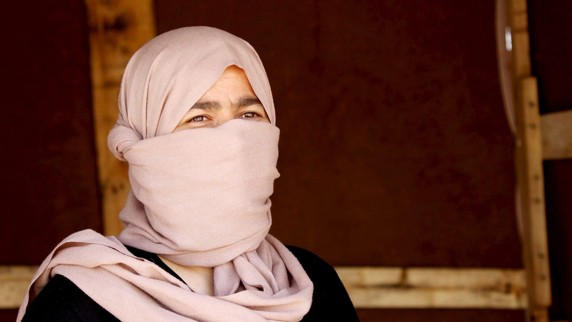 July 4, 2015: A Yazidi woman who escaped ISIS captivity. (Reuters)