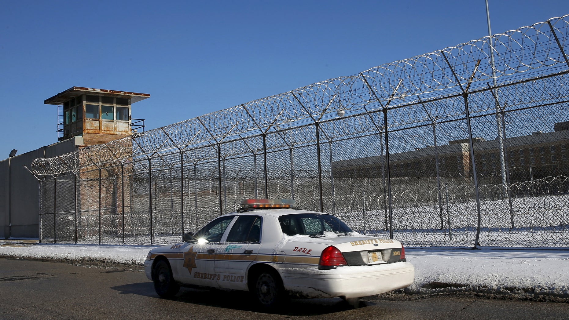 The Cook County Jail in Chicago.