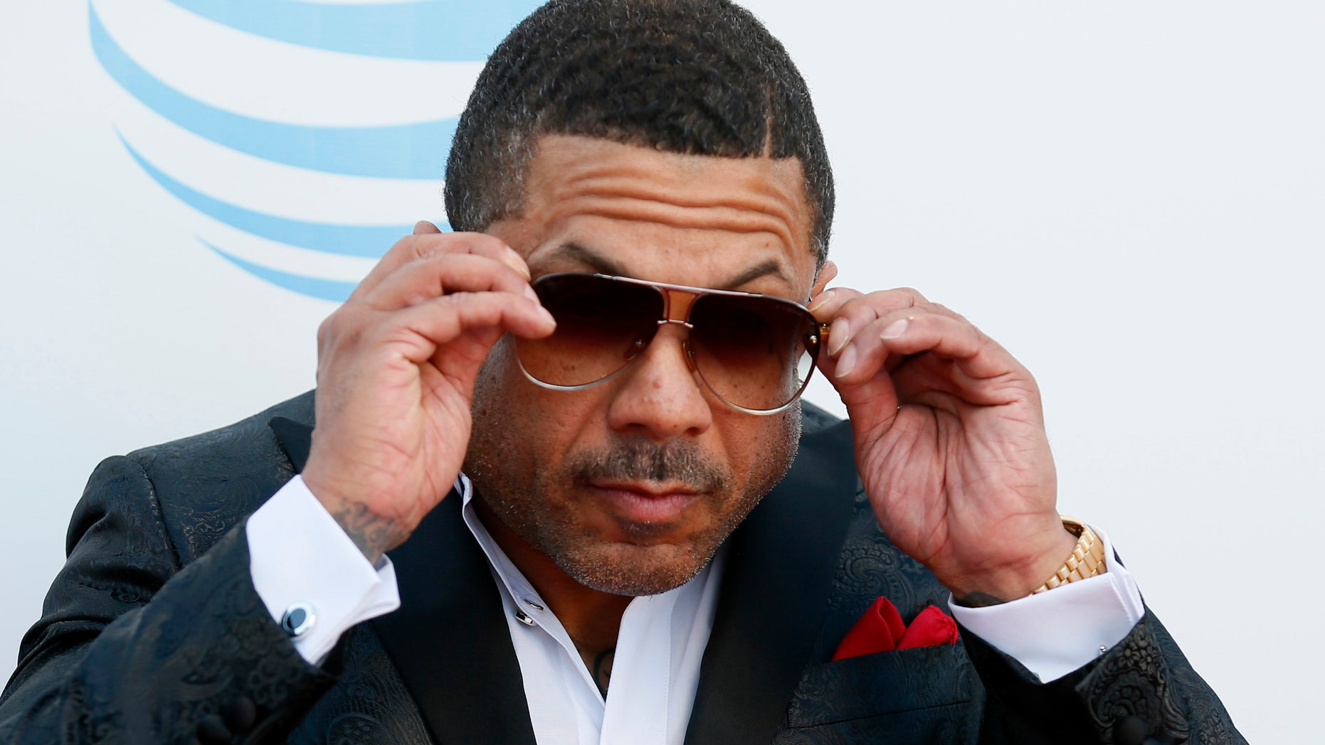 Record producer Benzino arrives at the 47th NAACP Image Awards in Pasadena, California February 5, 2016.  REUTERS/Danny Moloshok - RTX25O9E
