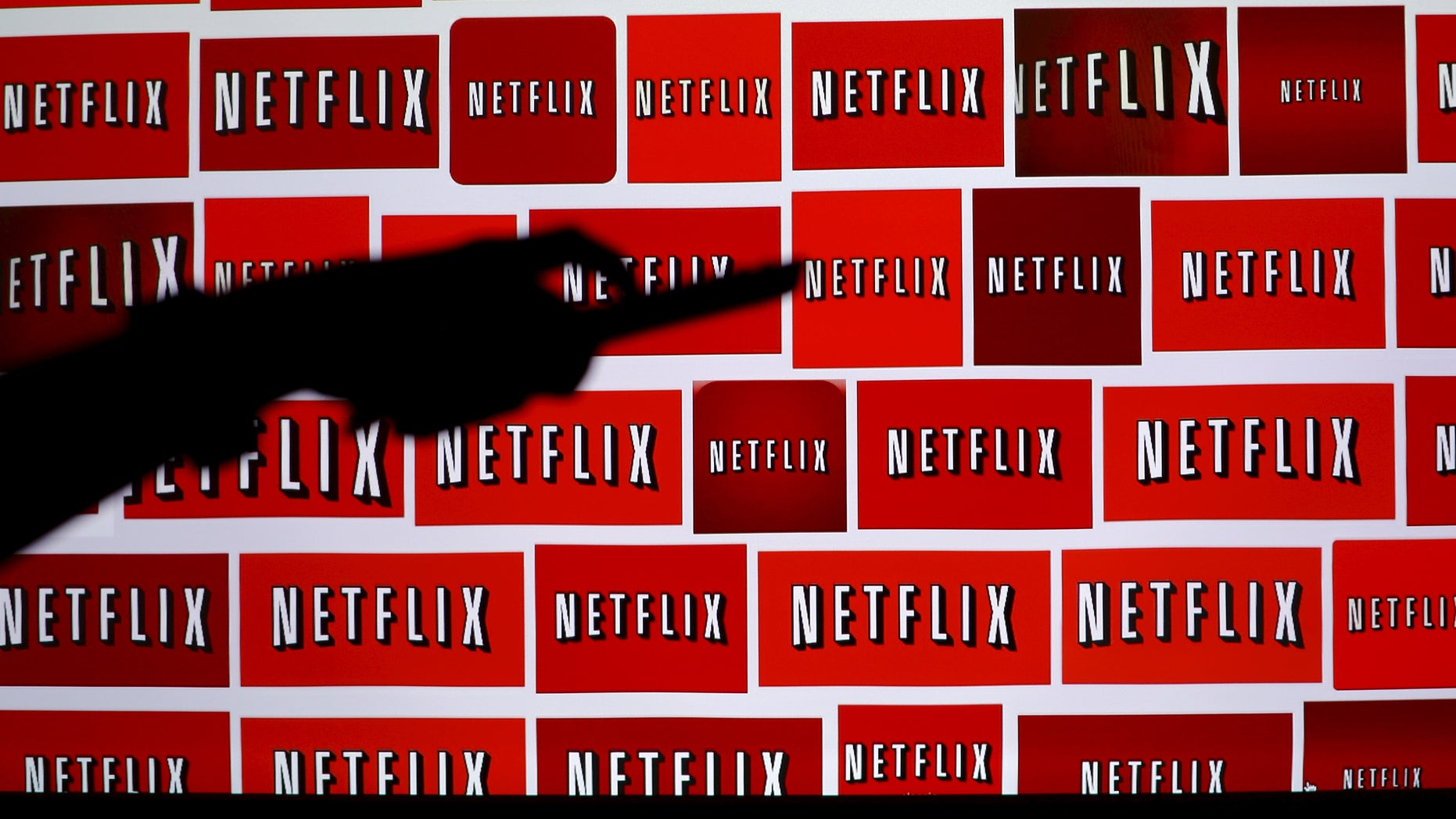 The Netflix logo is shown in this illustration photograph in Encinitas, California October 14, 2014. (REUTERS/Mike Blake/File Photo)