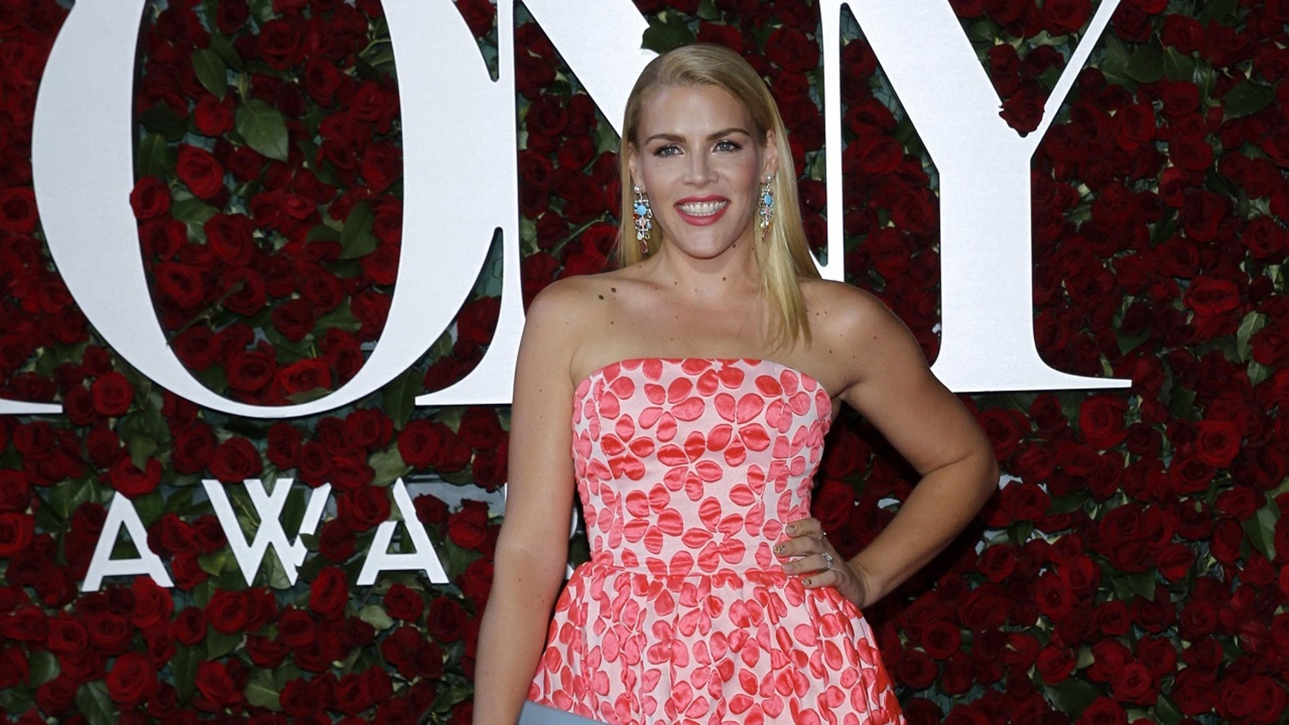 """Busy Philipps said she """"sunburned"""" her eyes after spending a day at a magazine photo shoot."""
