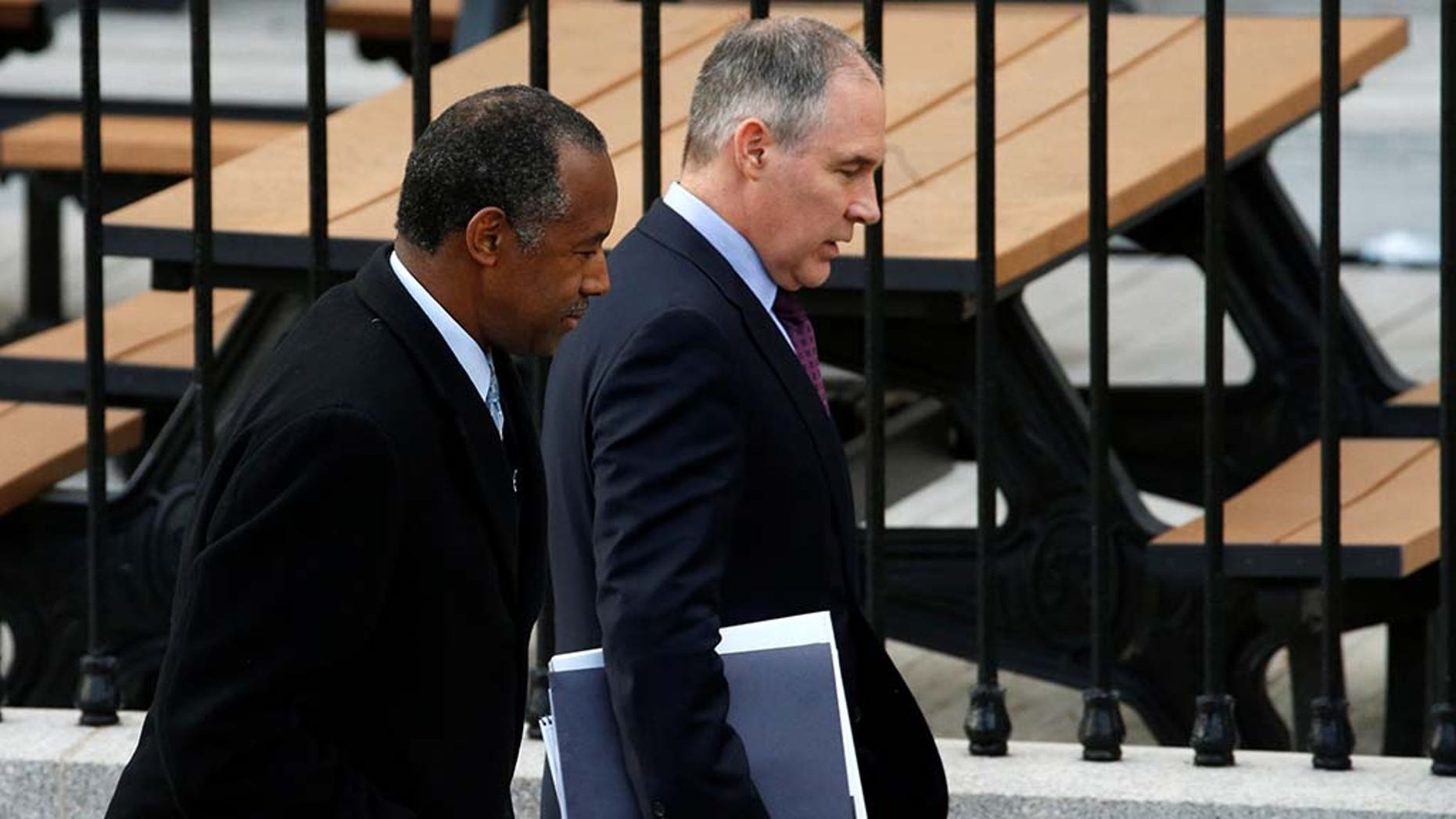 HUD Secretary Ben Carson and EPA Administrator Scott Pruitt are among the tiny fraction – 2 percent – nominated by President Trump of the 1,200 mostly senior executives who will be needed to run more than 200 federal agencies.