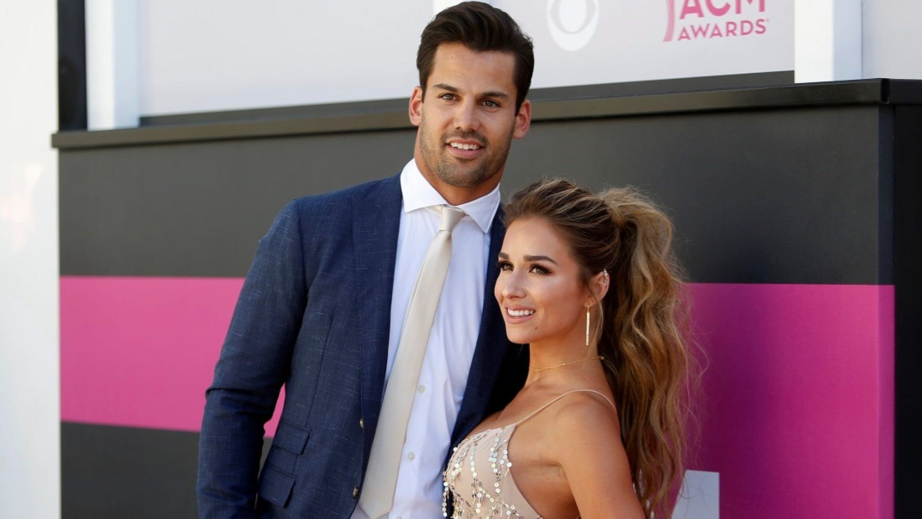 Football player Eric Decker and his wife, singer Jessie James Decker.