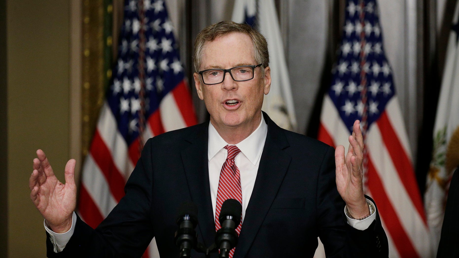 Robert Lighthizer also served as the deputy U.S. trade representative under the Reagan administration.