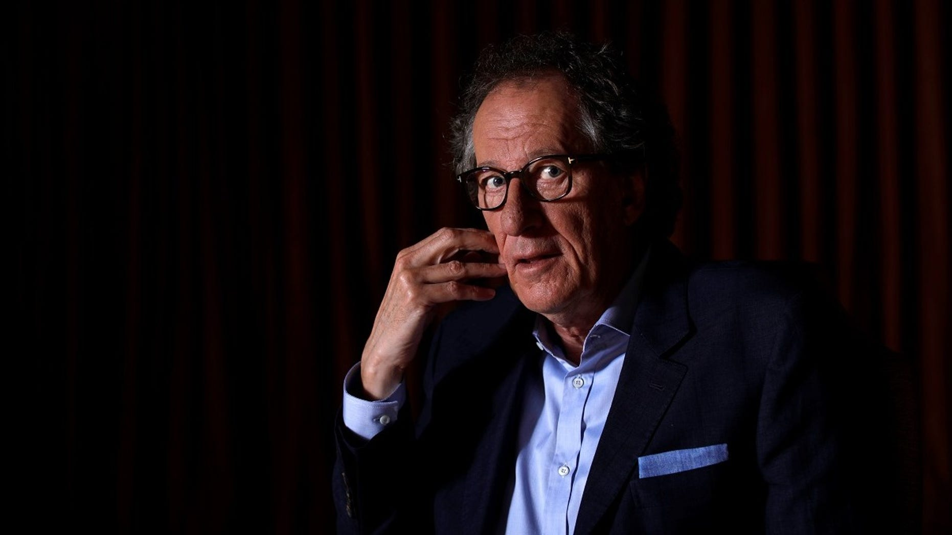"""Geoffrey Rush denied on Wednesday the allegations of """"inappropriate behavior"""" against him."""