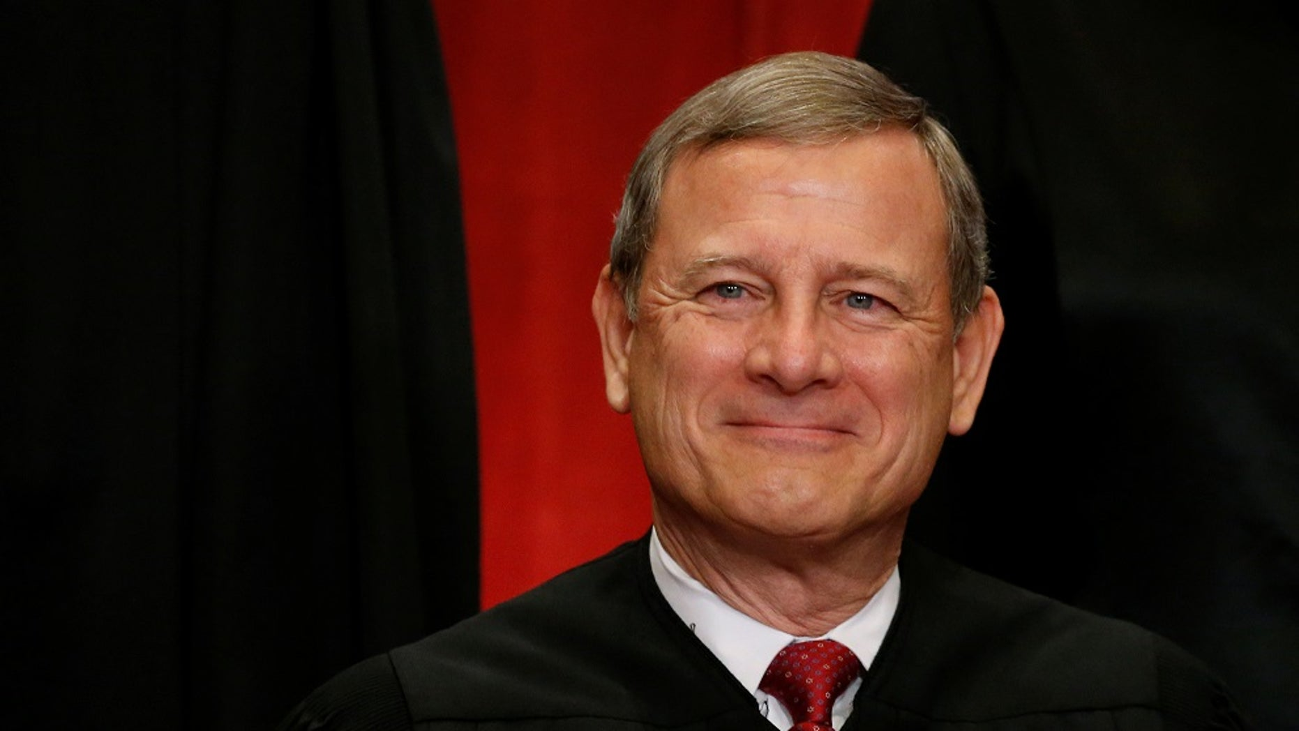 U.S. Supreme Court Chief Justice John Roberts is seen in the Supreme Court building in Washington, June 1, 2017.
