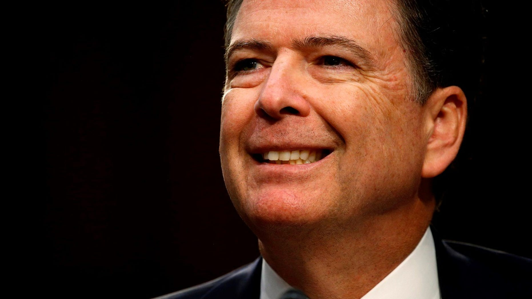 """The former FBI director finally changed his @FormerBu Twitter handle on Monday to @Comey and said he is """"glad to be part of the Twitterverse"""" — officially."""