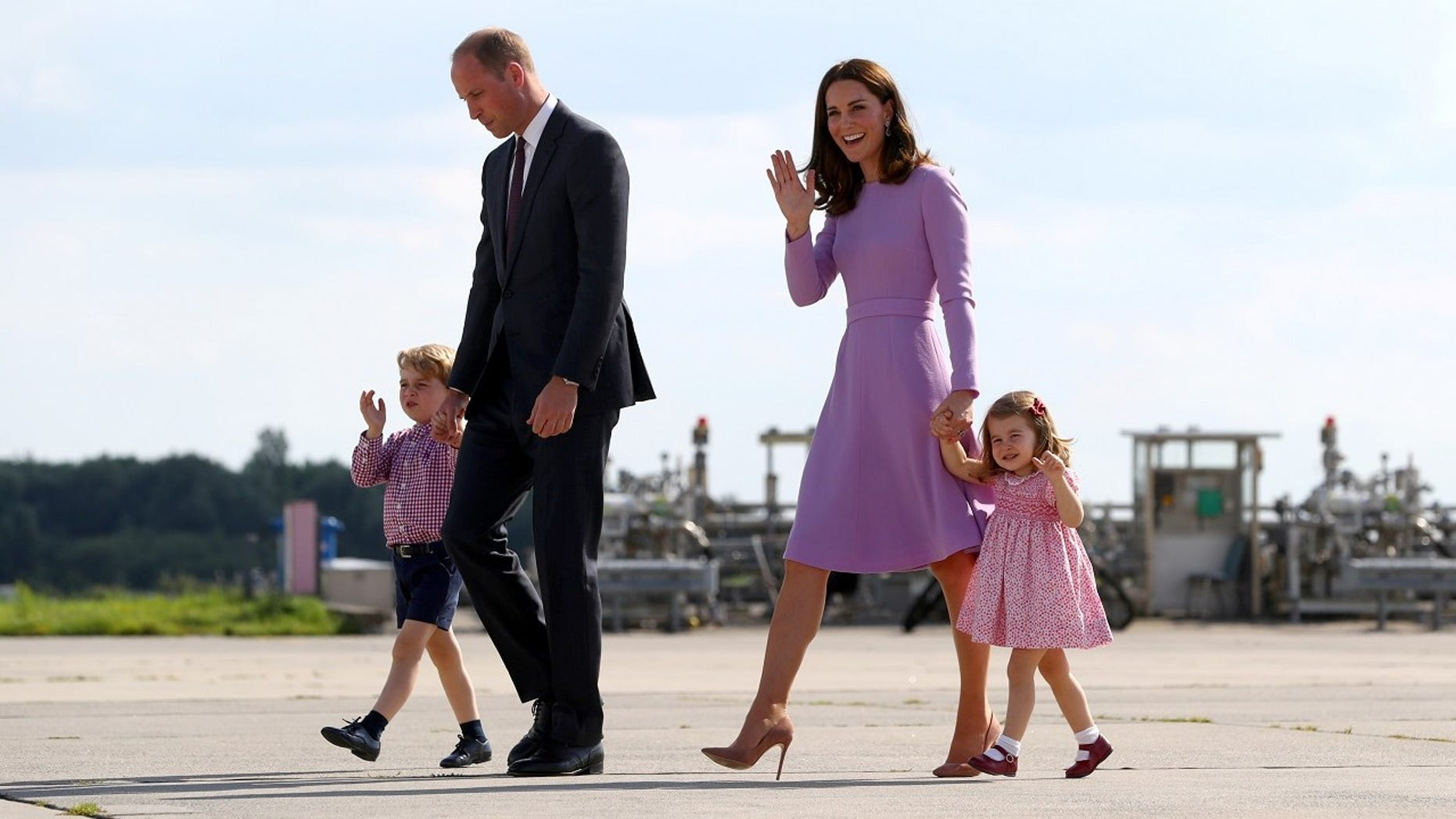 Kate Middleton revealed Prince William also struggled with fatherhood when he became a parent.