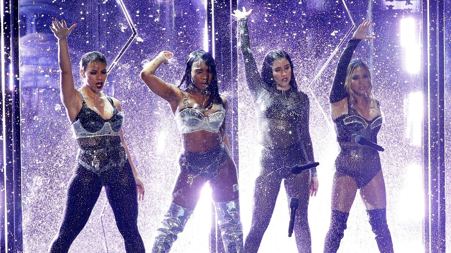 Fifth Harmony during the 2017 MTV's VMAs. The group performed its last show together on Friday before taking an indefinite break.