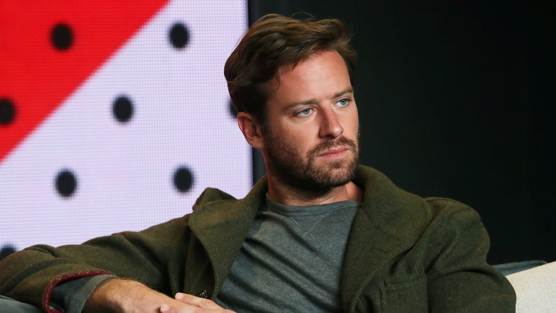 "Actor Armie Hammer attends a press conference to promote the film ""Call Me By Your Name"" at the Toronto International Film Festival."