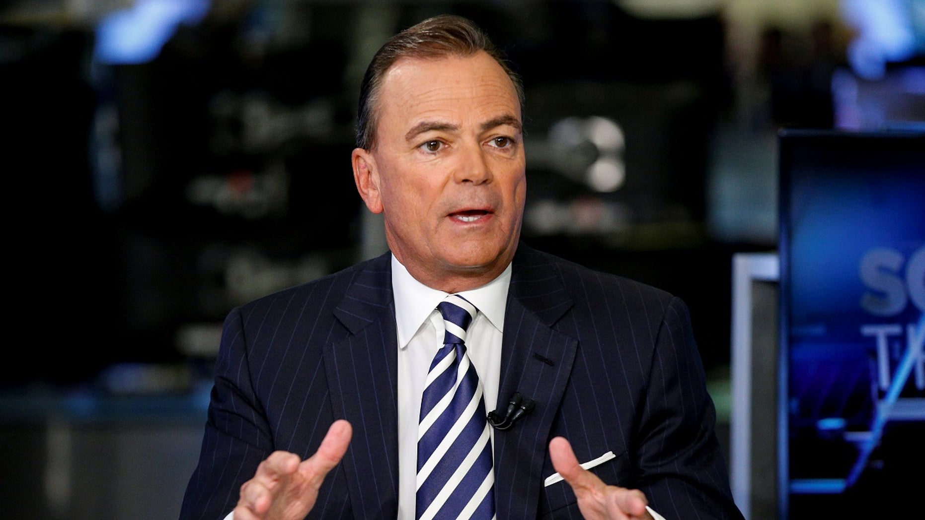 Rick Caruso, CEO of Caruso Affiliated, speaks during an interview at the New York Stock Exchange, (NYSE) in New York, U.S., Dec. 1, 2017.
