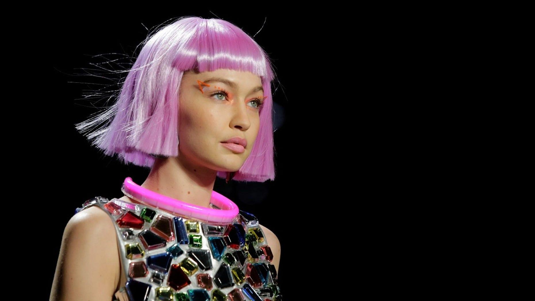 "Gigi Hadid slammed critics after she was called ""too skinny"" during New York Fashion Week."