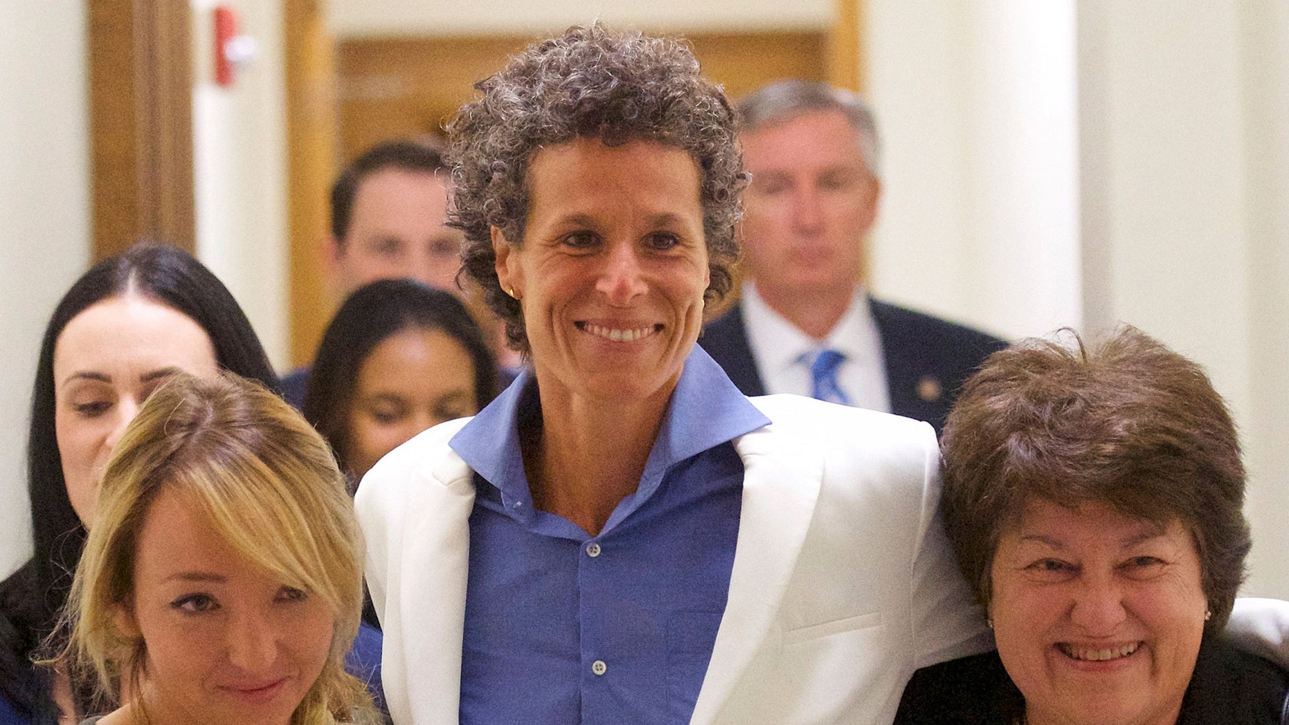 "Bill Cosby accuser Andrea Constand was heralded as ""the Joan of Arc on the war on rape"" by another accuser after a jury found the embattled comedian guilty of assaulting her 14 years ago."