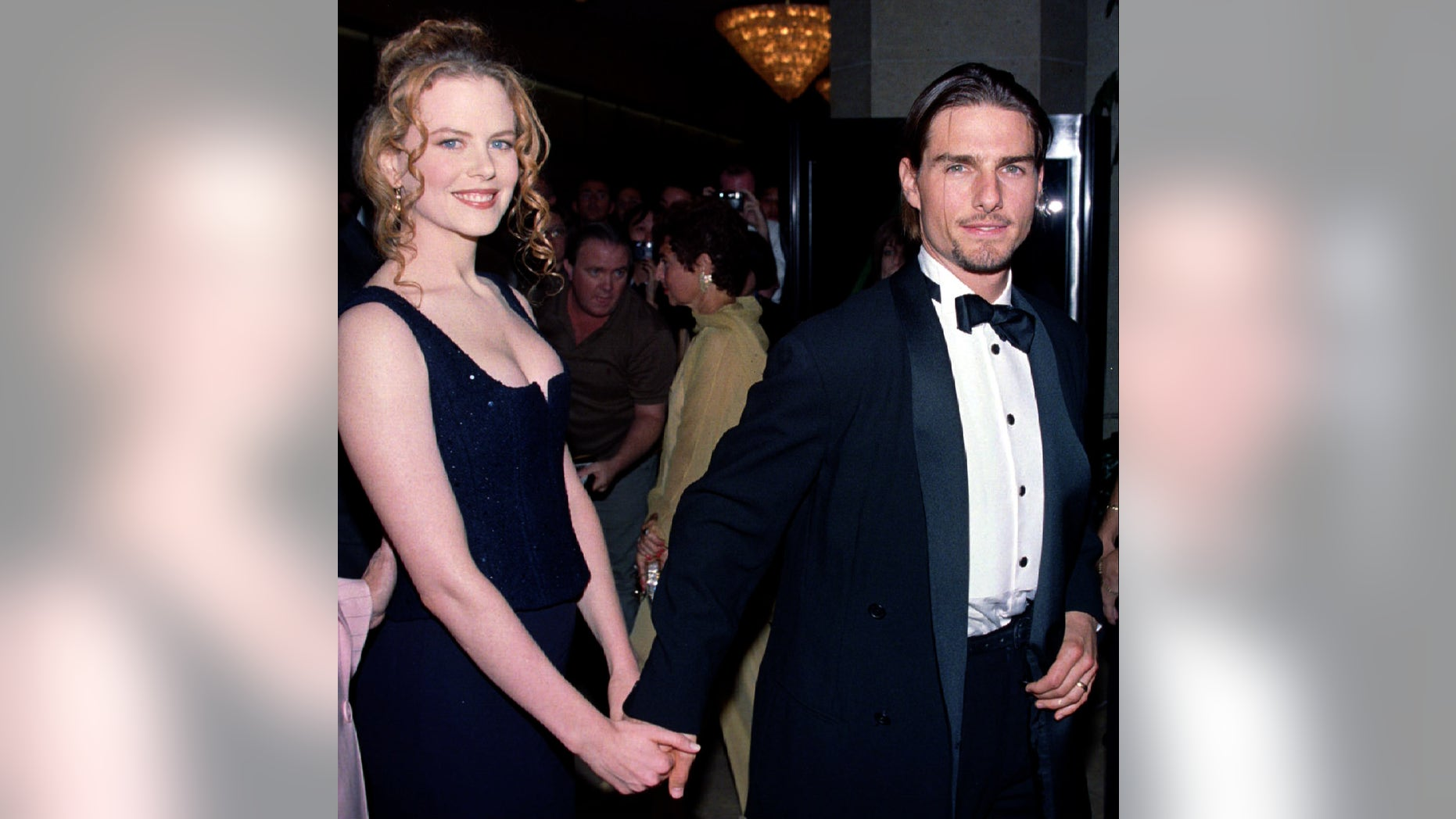 September 10, 1994: Tom Cruise and his then-wife Nicole Kidman arrive for the American Cinematheque's Moving Picture Ball at the Beverly Hilton.