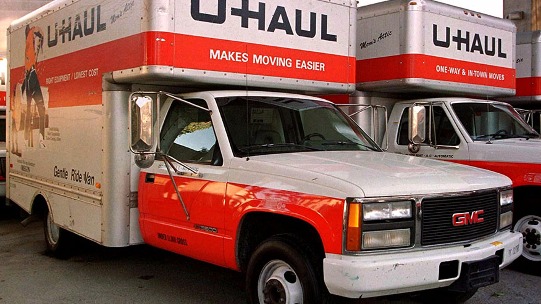 A search is underway for a similar U-Haul truck after a man found with gunshot wounds on Interstate 95 in New York.