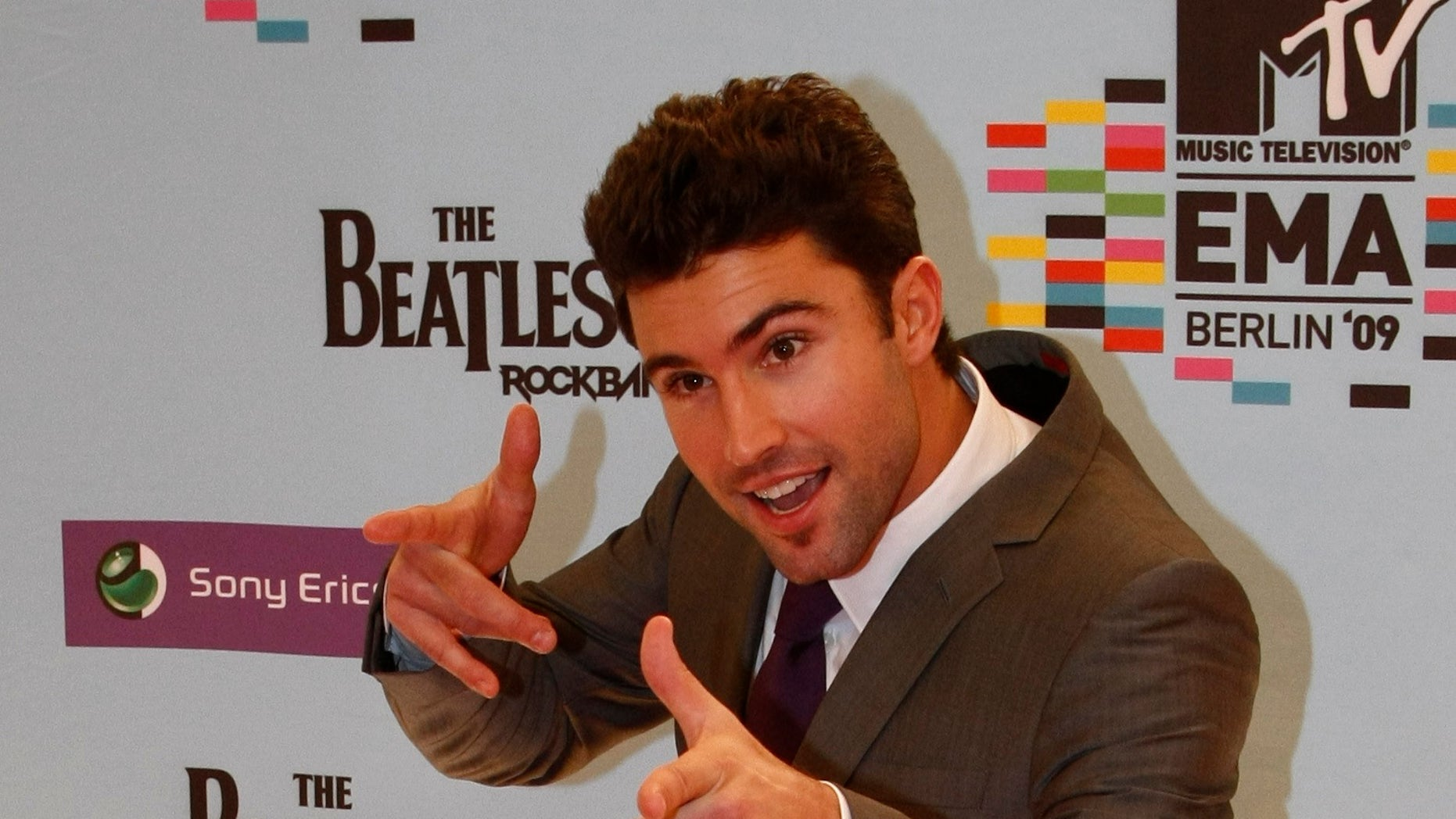 Reality TV actor Brody Jenner pose the red carpet before the MTV Europe Awards ceremony in Berlin November 5, 2009.