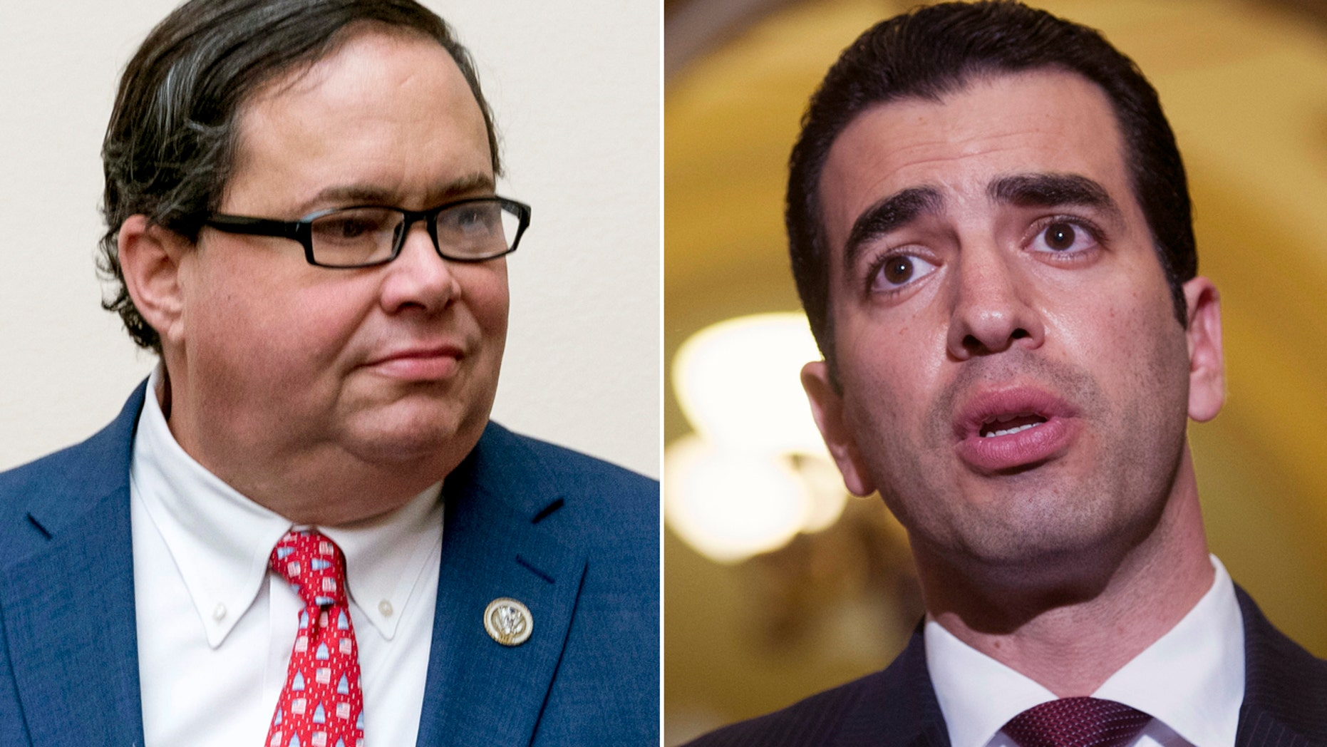 Rep. Blake Farenthold, R-Texas, and Rep. Ruben Kihuen, D-Nev., have announced they will not run for re-election next year amid sexual harassment allegations.