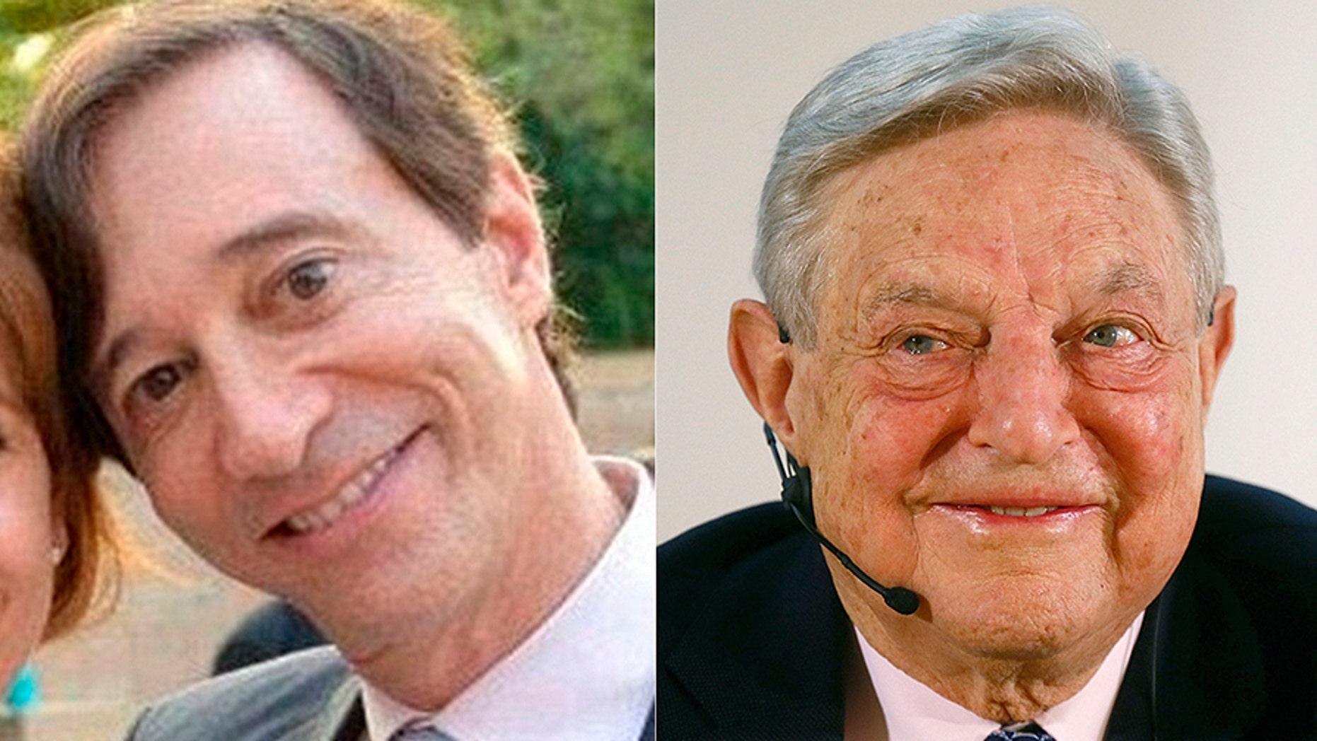 Howie Rubin and George Soros