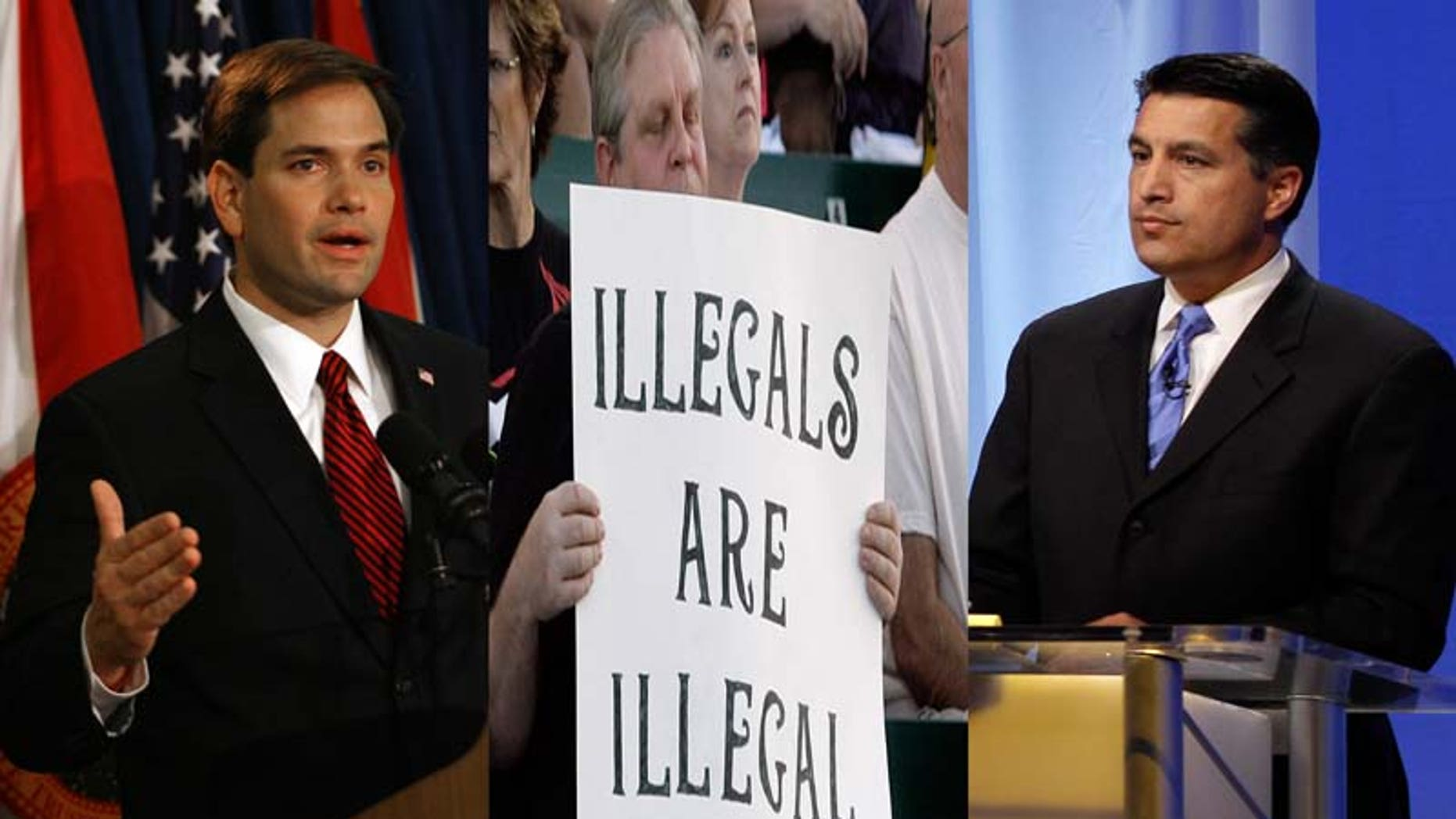 Florida Sen.-elect Republican Marco Rubio holds a press conference at the Biltmore Hotel in Coral Gables, Fla. Wednesday Nov. 3, 2010. Rubio defeated Charlie Crist and Kendrick Meek to retain the seat for the GOP.(AP Photo/Jeffrey M. Boan)