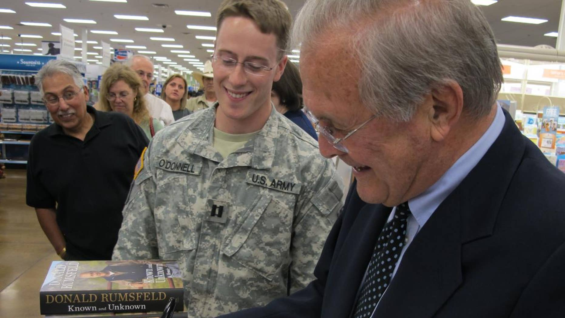 Former Defense Sec. Donald Rumsfeld, May 25, 2011 (Fox News Photo)