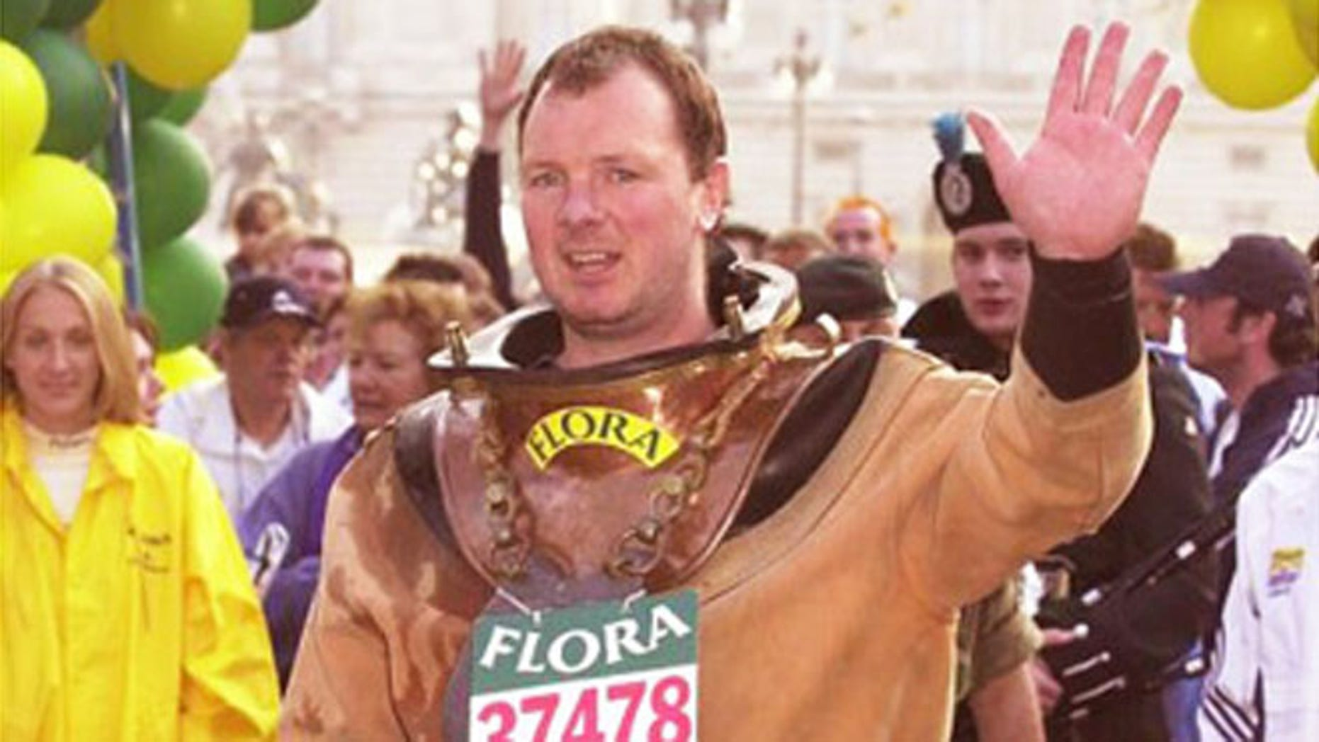 Lloyd Scott is known as the slowest marathon competitor in history