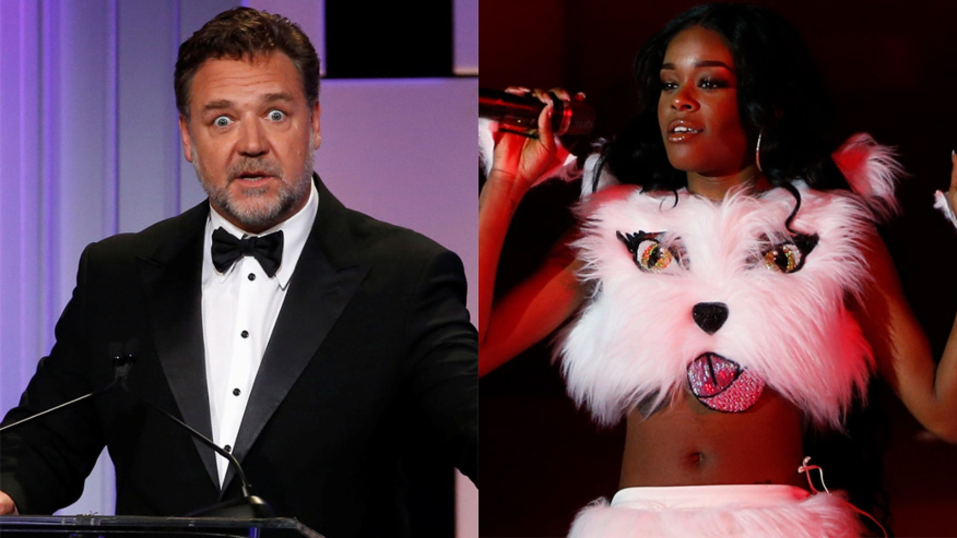 Russell Crowe and Azealia Banks