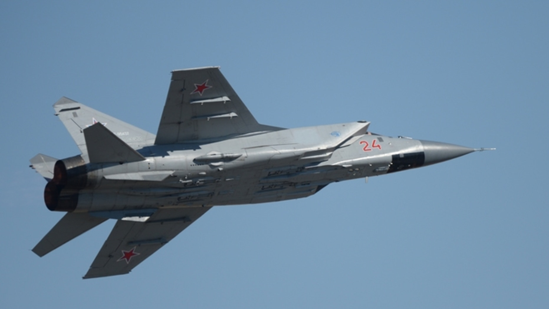 MiG-31 aircraft in 2015.