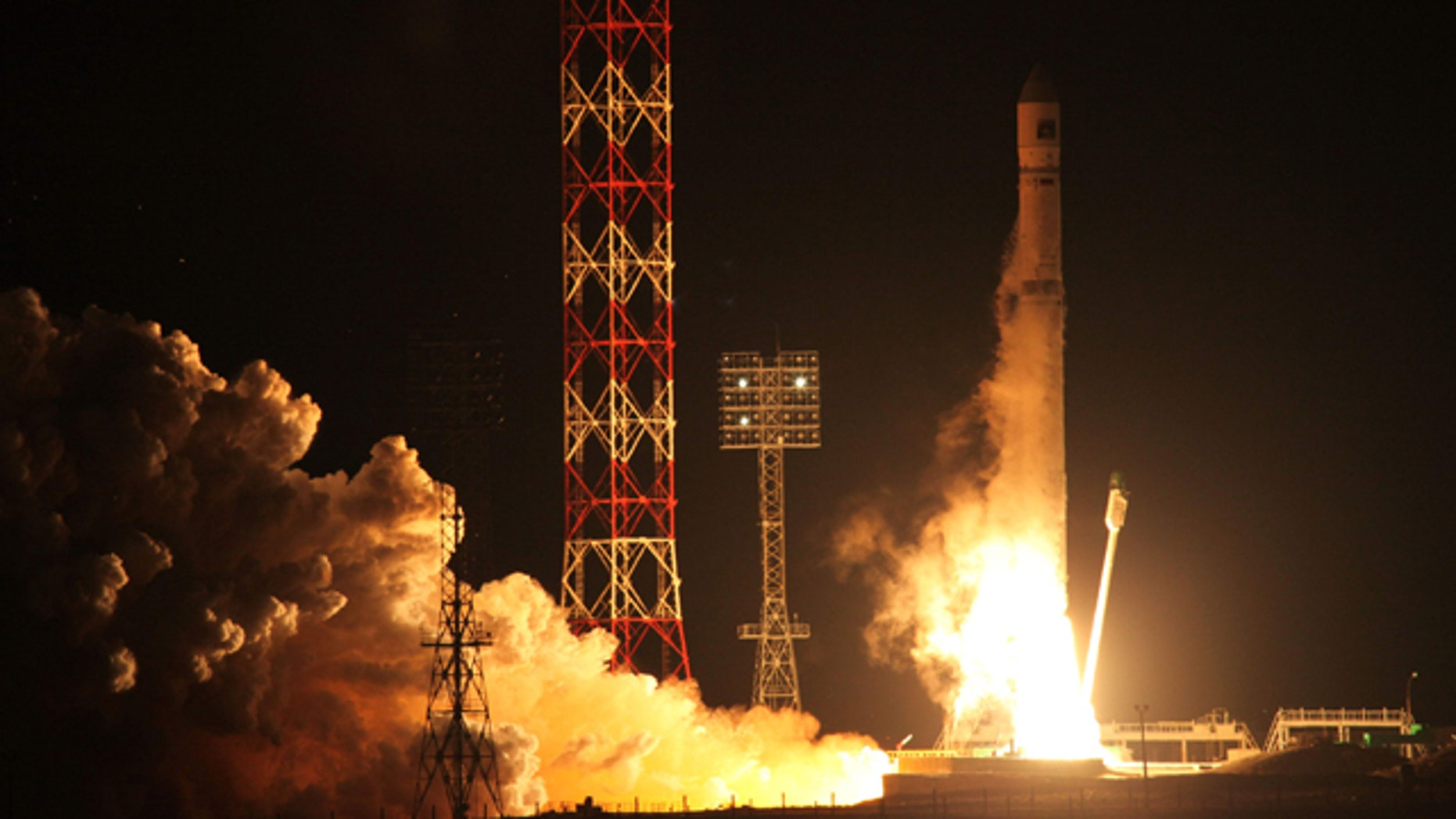 Nov. 9, 2011: FILE - In this file photo, the Zenit-2SB rocket with the Phobos-Ground probe blasts off from its launch pad at the Cosmodrome  Baikonur, Kazakhstan.